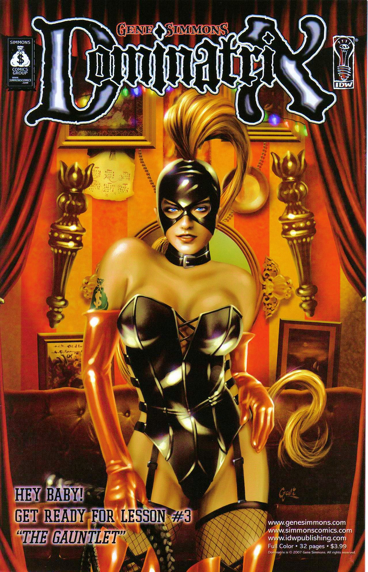 Read online Dominatrix comic -  Issue #2 - 25