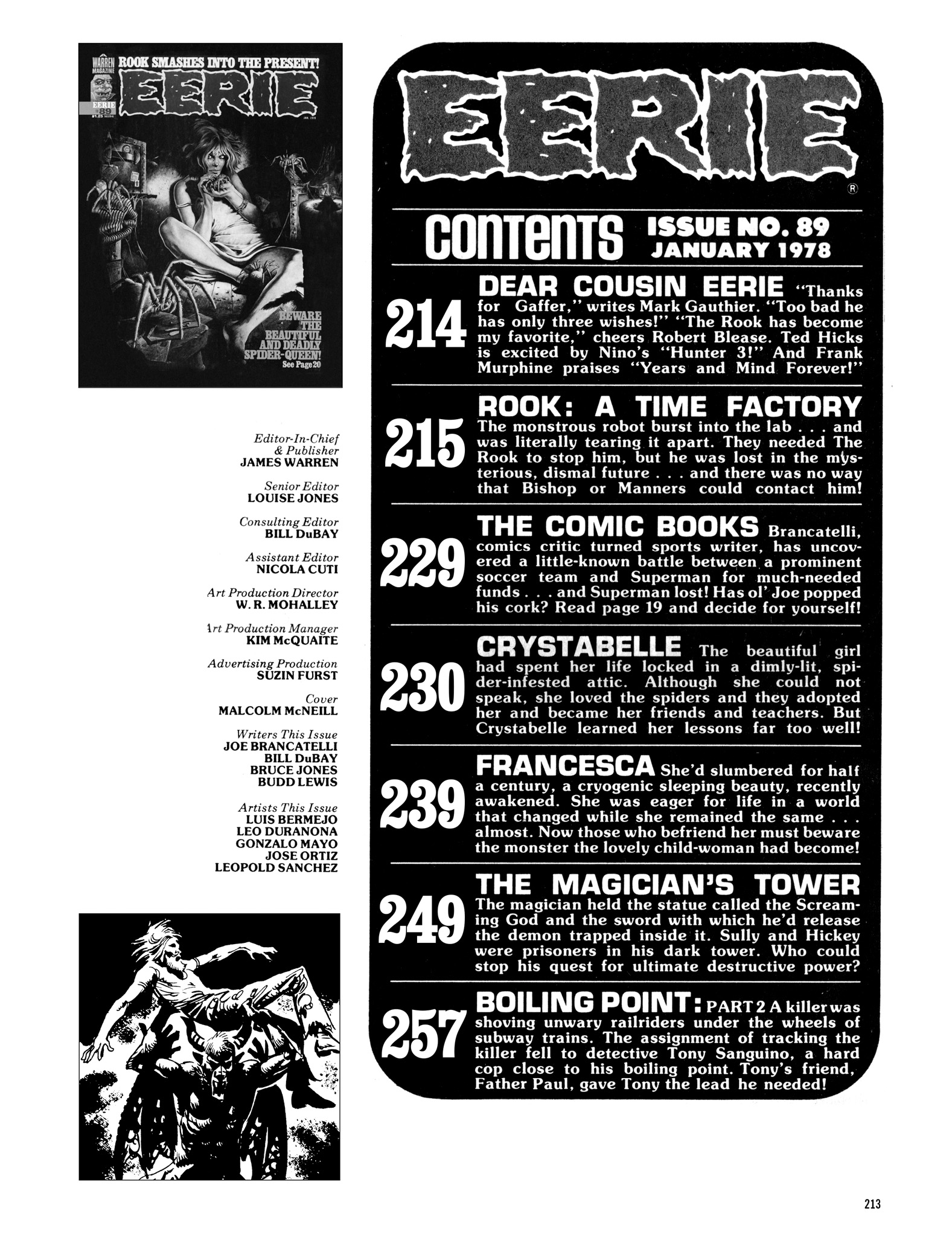 Read online Eerie Archives comic -  Issue # TPB 18 - 210