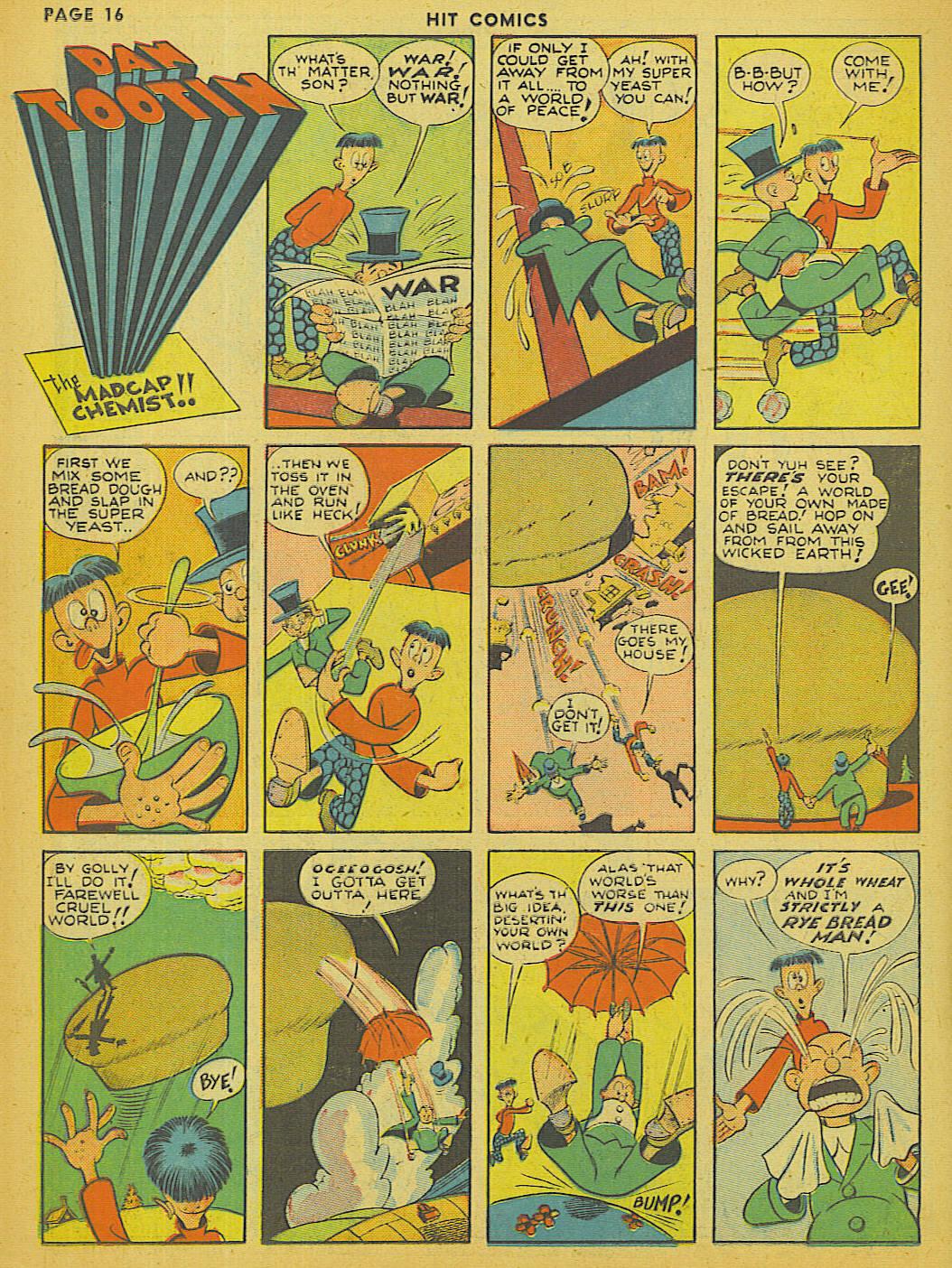 Read online Hit Comics comic -  Issue #13 - 18