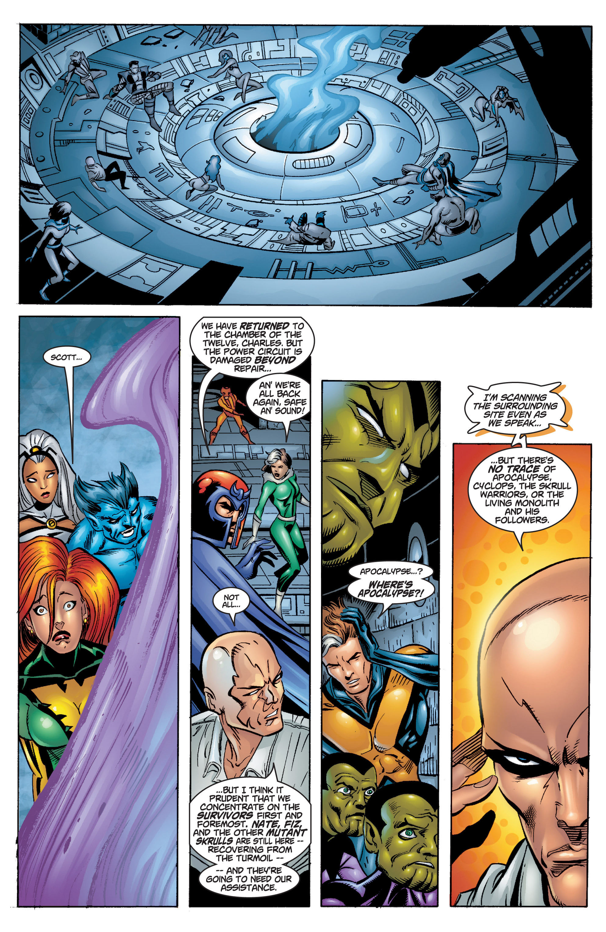 Read online Uncanny X-Men (1963) comic -  Issue #378 - 20
