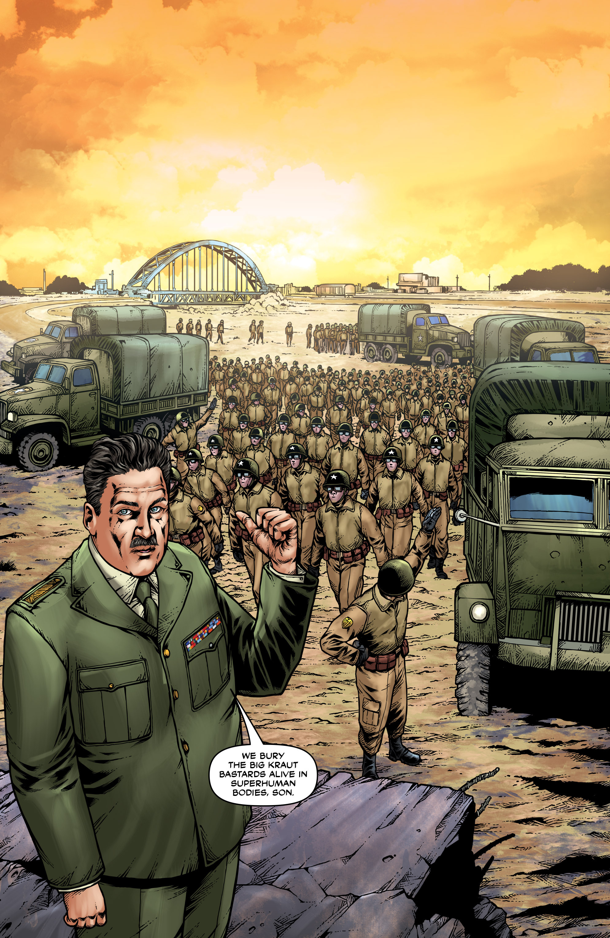 Read online Uber: Invasion comic -  Issue #2 - 24