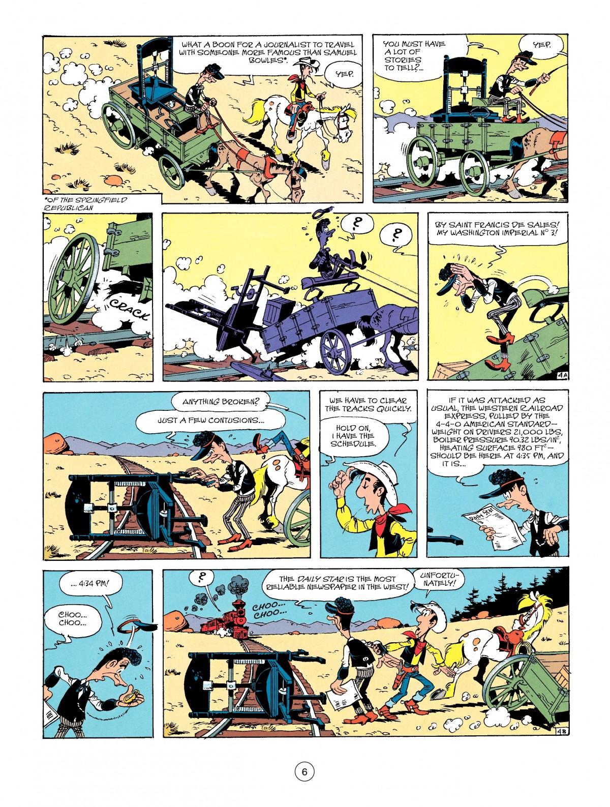 Read online A Lucky Luke Adventure comic -  Issue #41 - 6