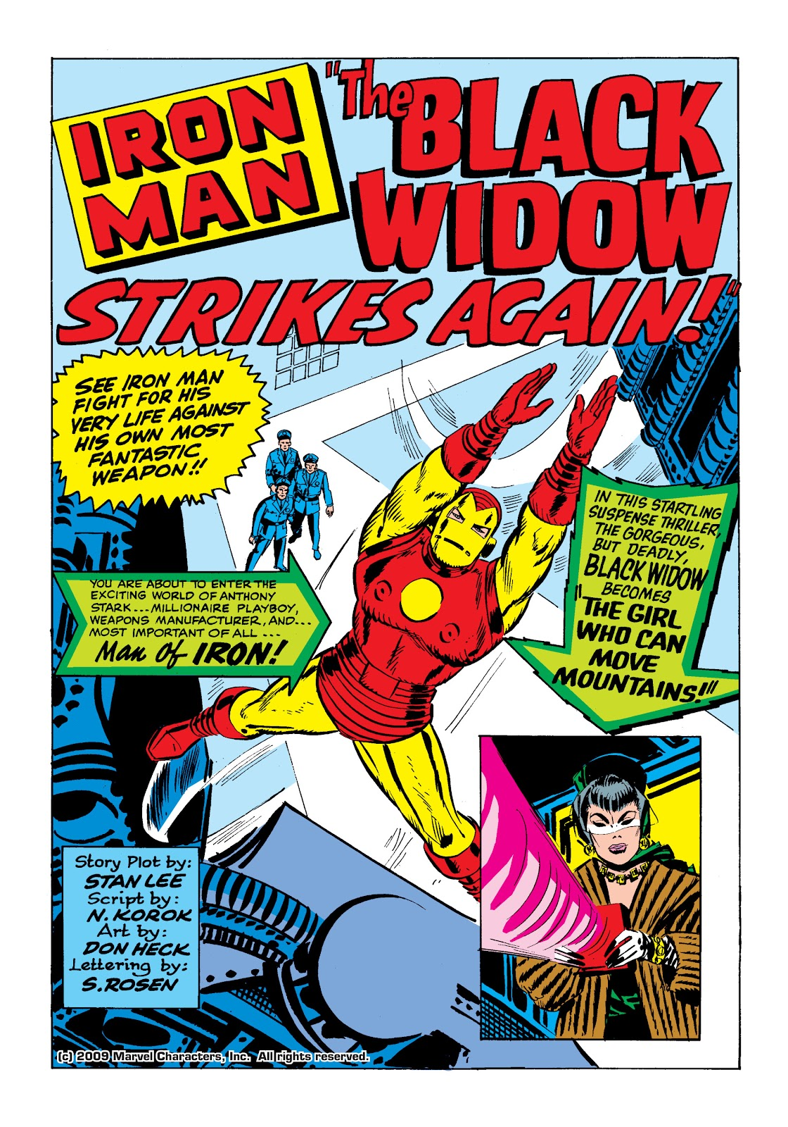Read online Marvel Masterworks: The Invincible Iron Man comic -  Issue # TPB 2 (Part 1) - 32