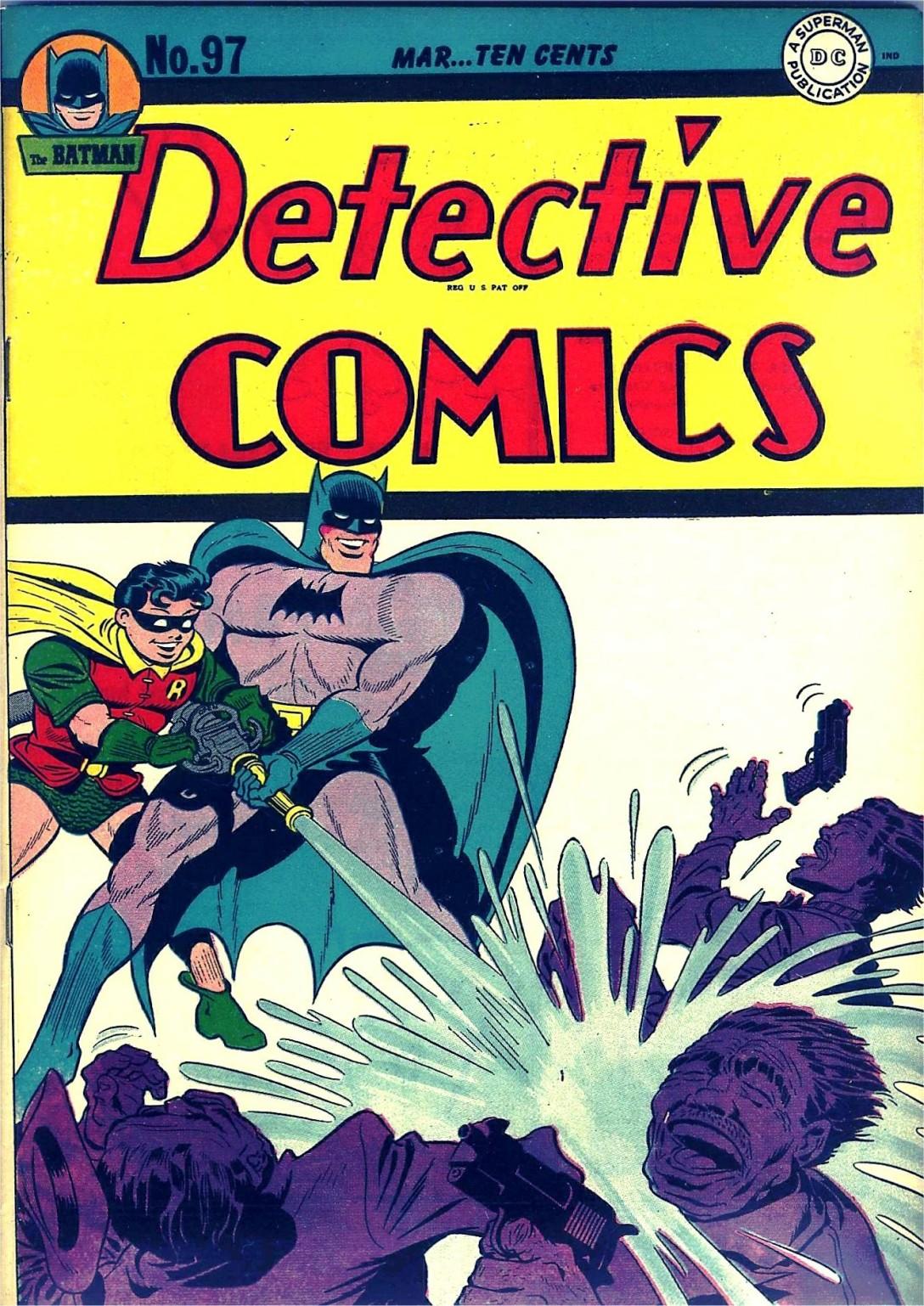 Read online Detective Comics (1937) comic -  Issue #97 - 1