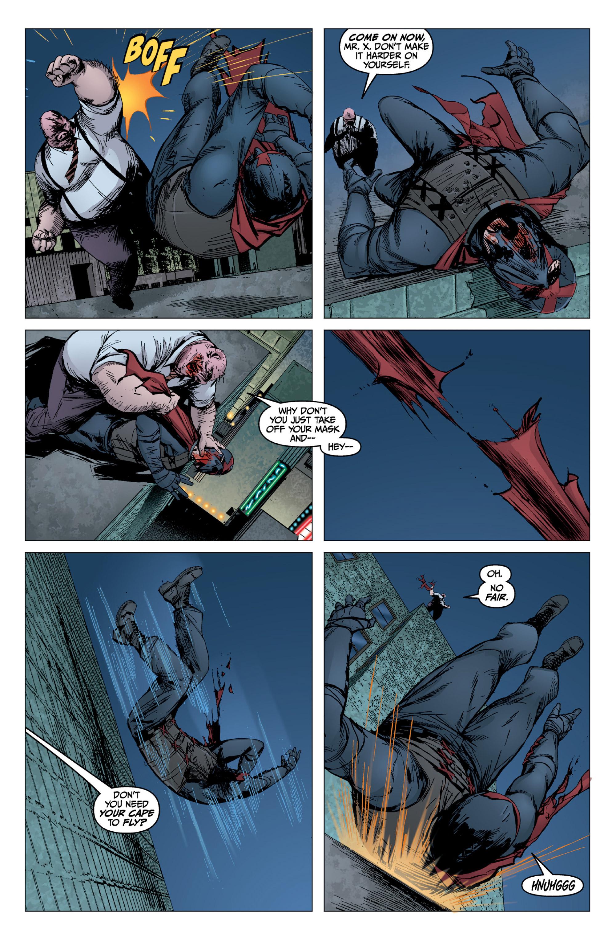 Read online X: Big Bad comic -  Issue # Full - 110