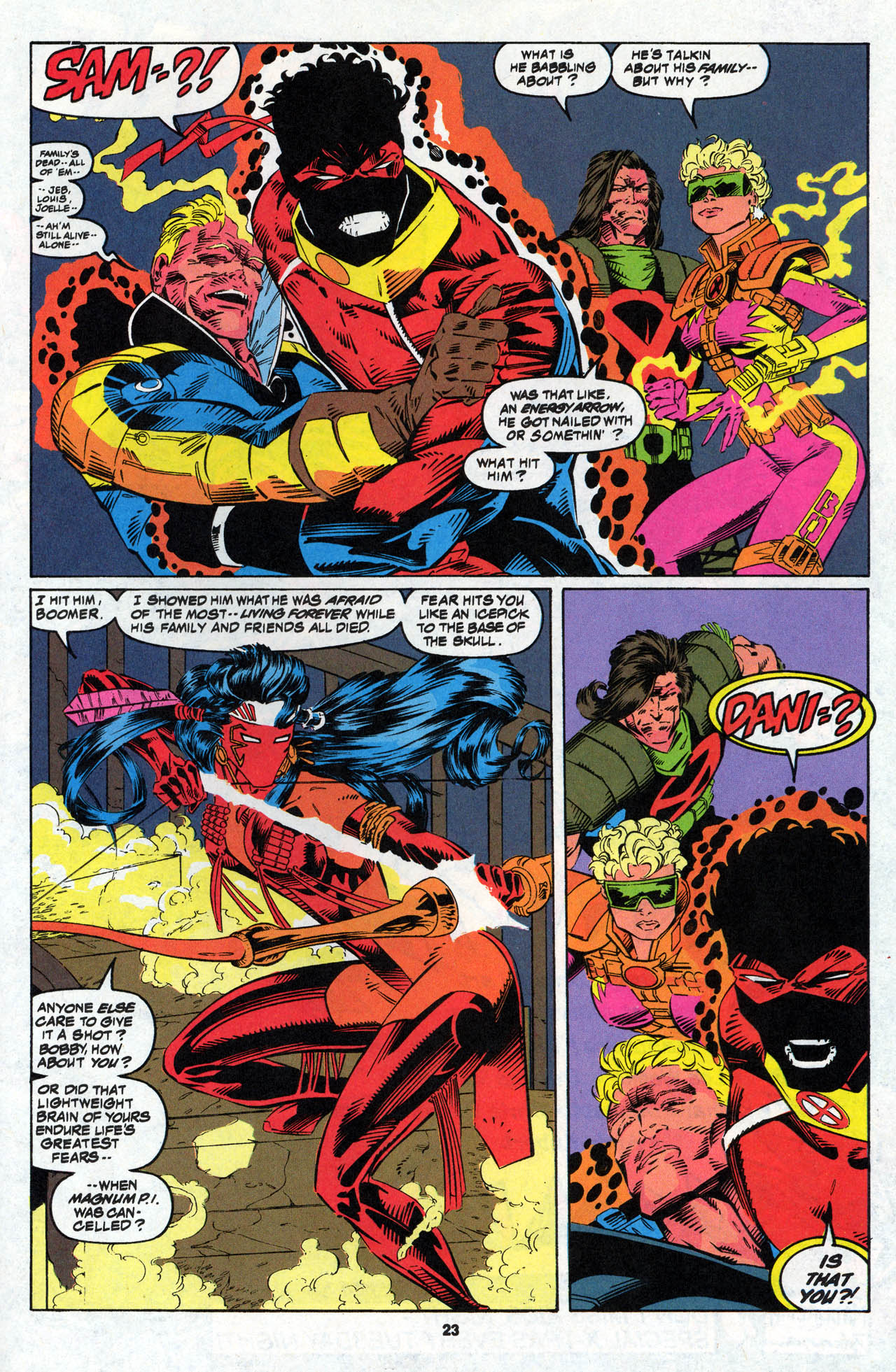 Read online X-Force (1991) comic -  Issue #27 - 24