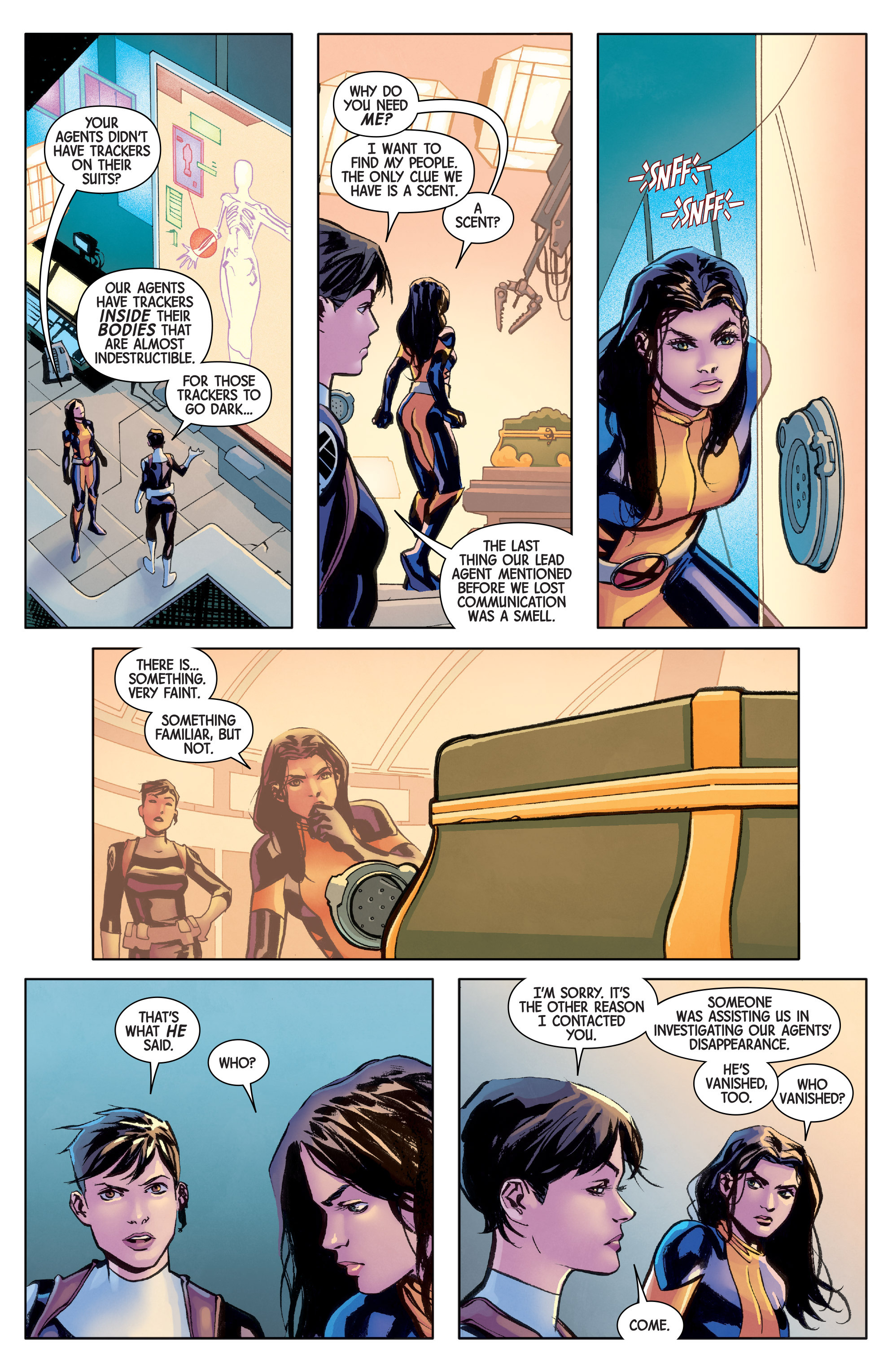 Read online All-New Wolverine (2016) comic -  Issue #8 - 14
