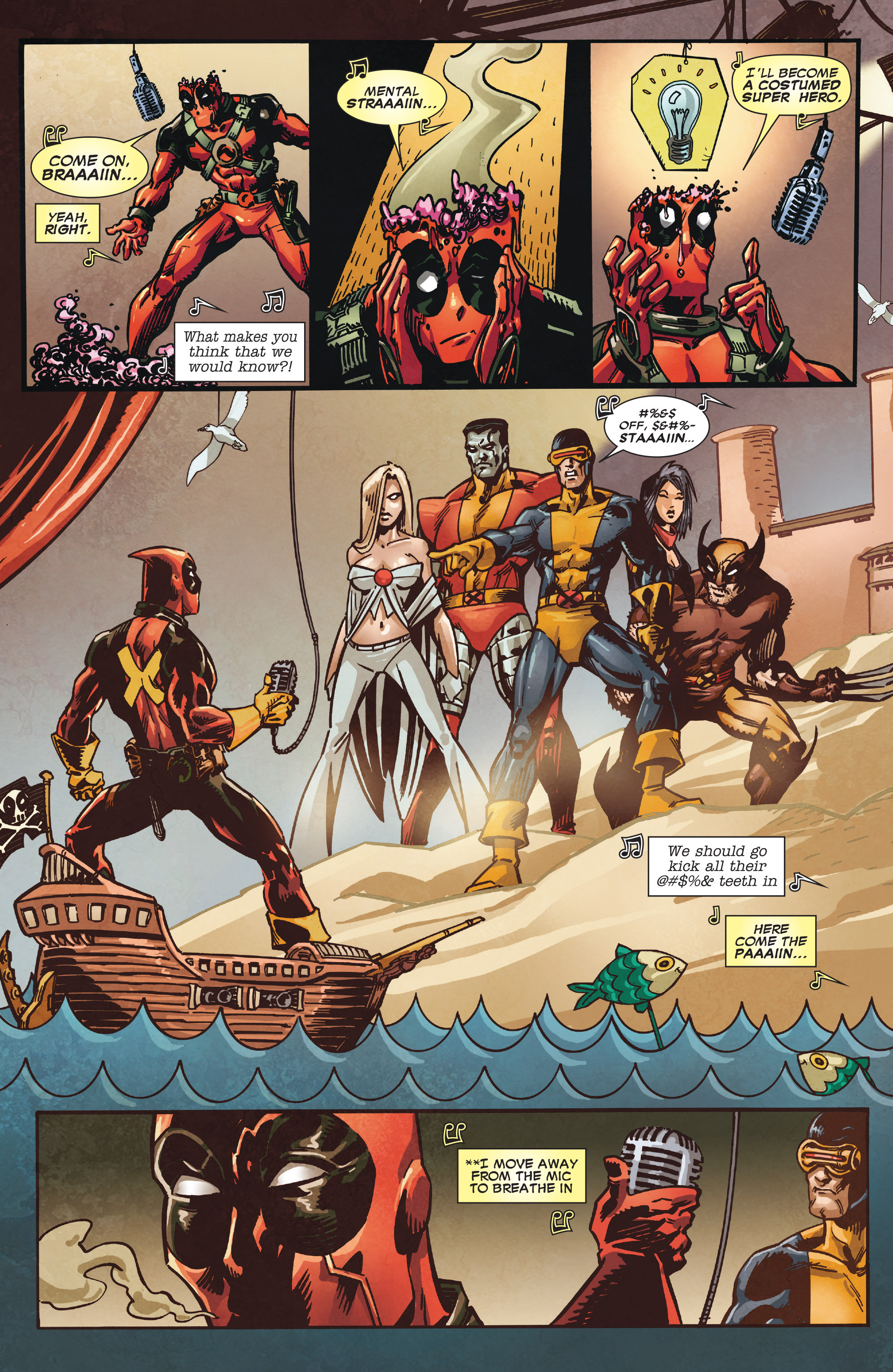 Read online True Believers: Deadpool the Musical comic -  Issue # Full - 12