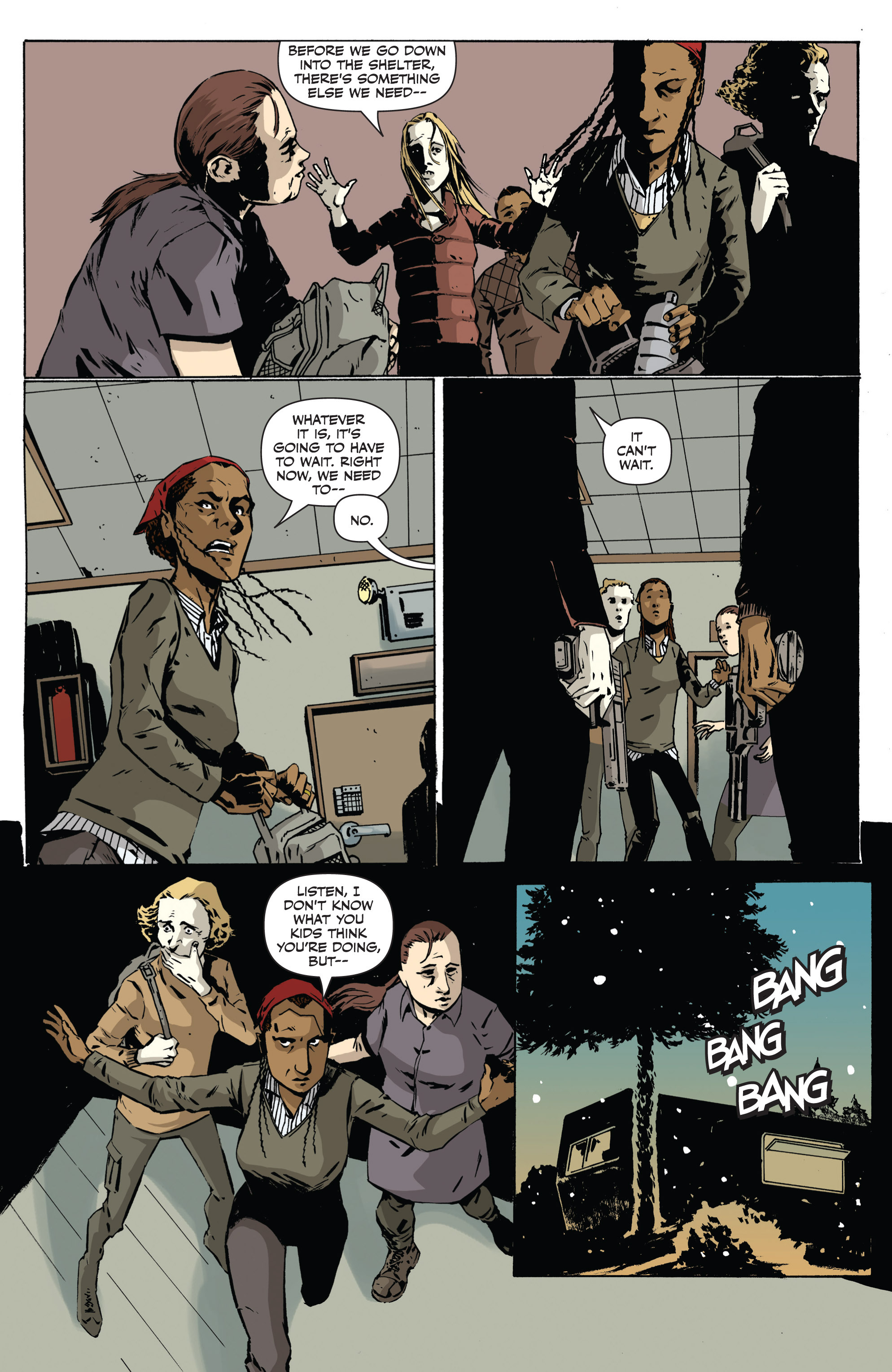 Read online Sheltered comic -  Issue #1 - 22