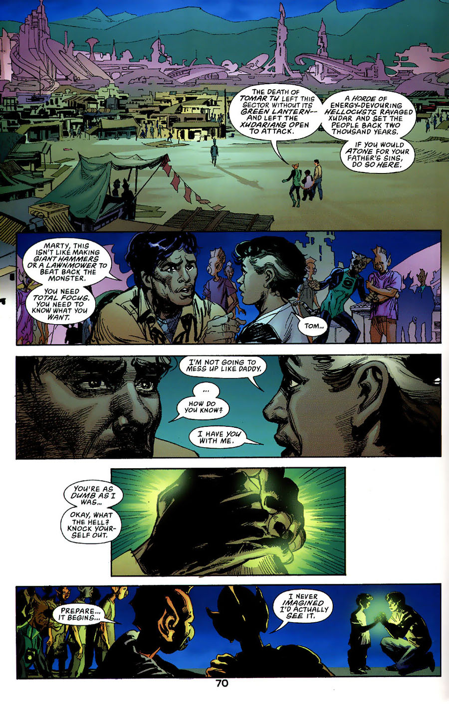 Read online Green Lantern: Legacy: The Last Will and Testament of Hal Jordan comic -  Issue # TPB - 76