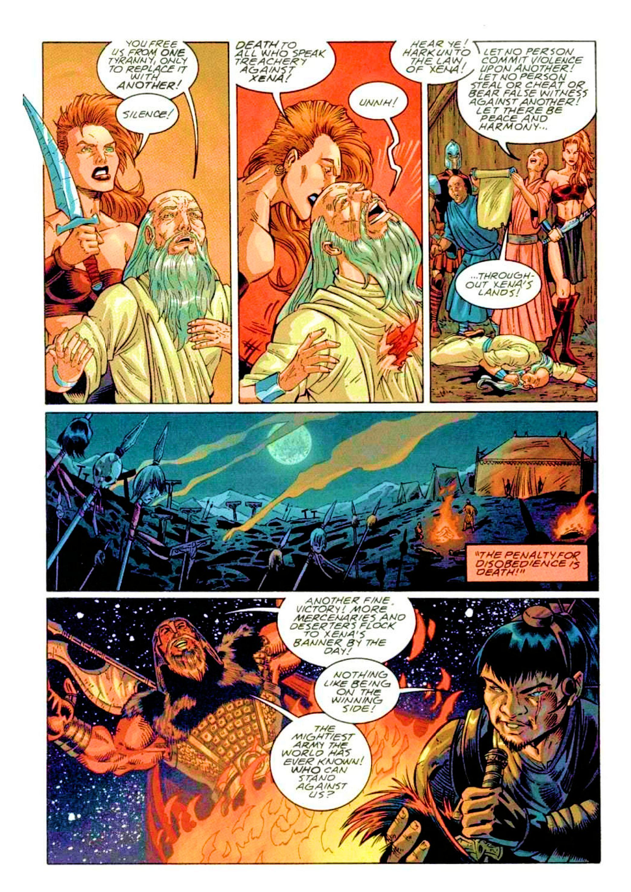 Read online Xena: Warrior Princess (1999) comic -  Issue #2 - 10