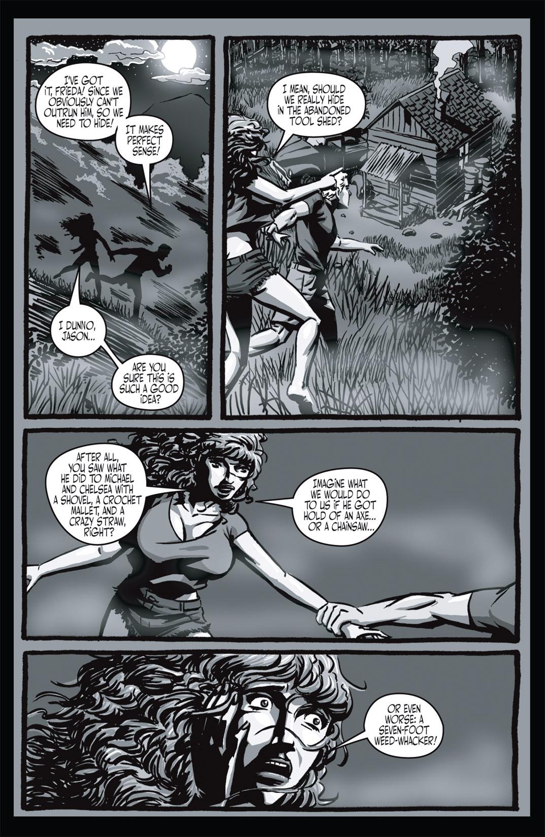 Read online Nightmare World comic -  Issue # Vol. 1 Thirteen Tales of Terror - 20