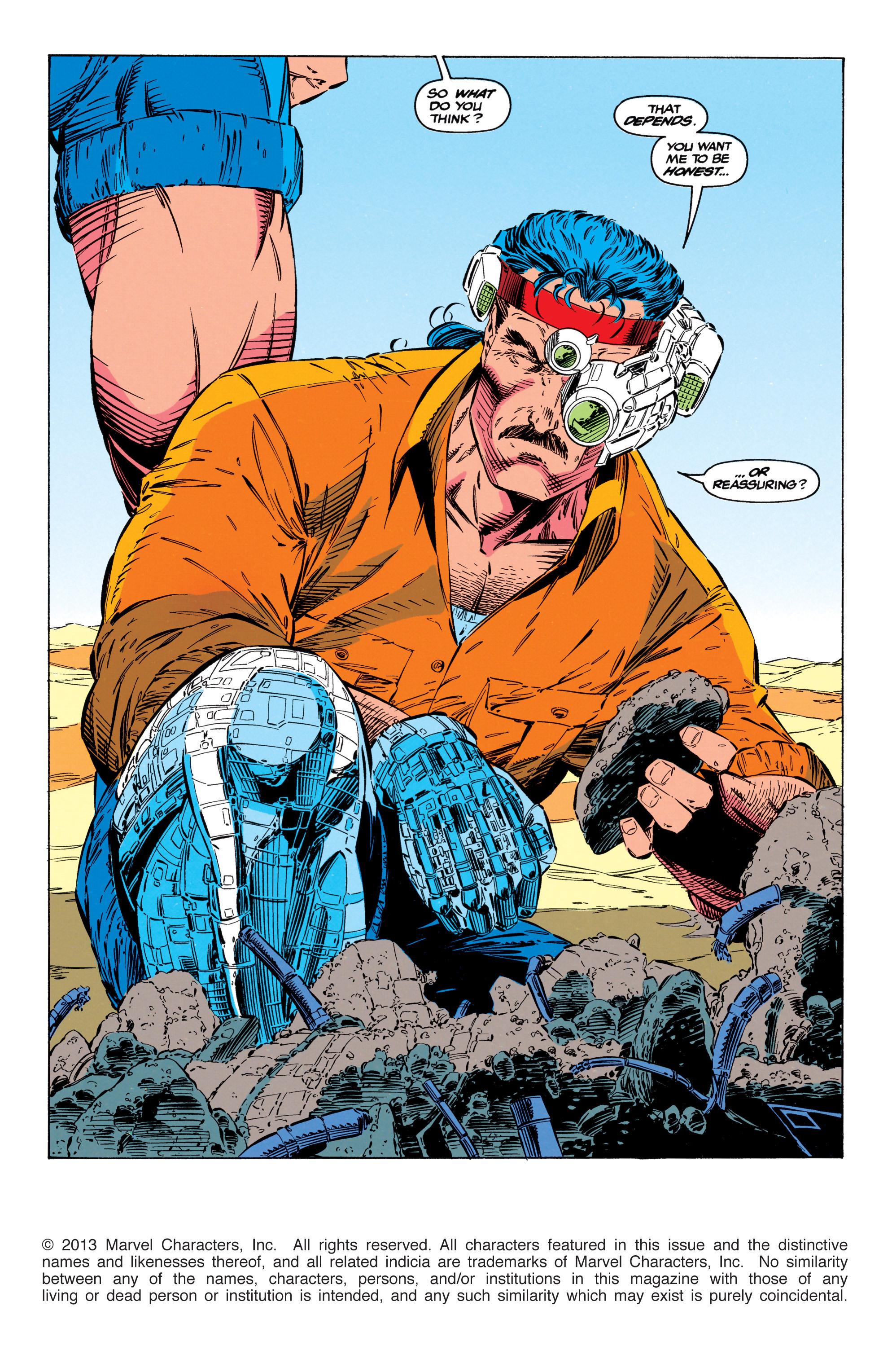 Read online Uncanny X-Men (1963) comic -  Issue #299 - 2