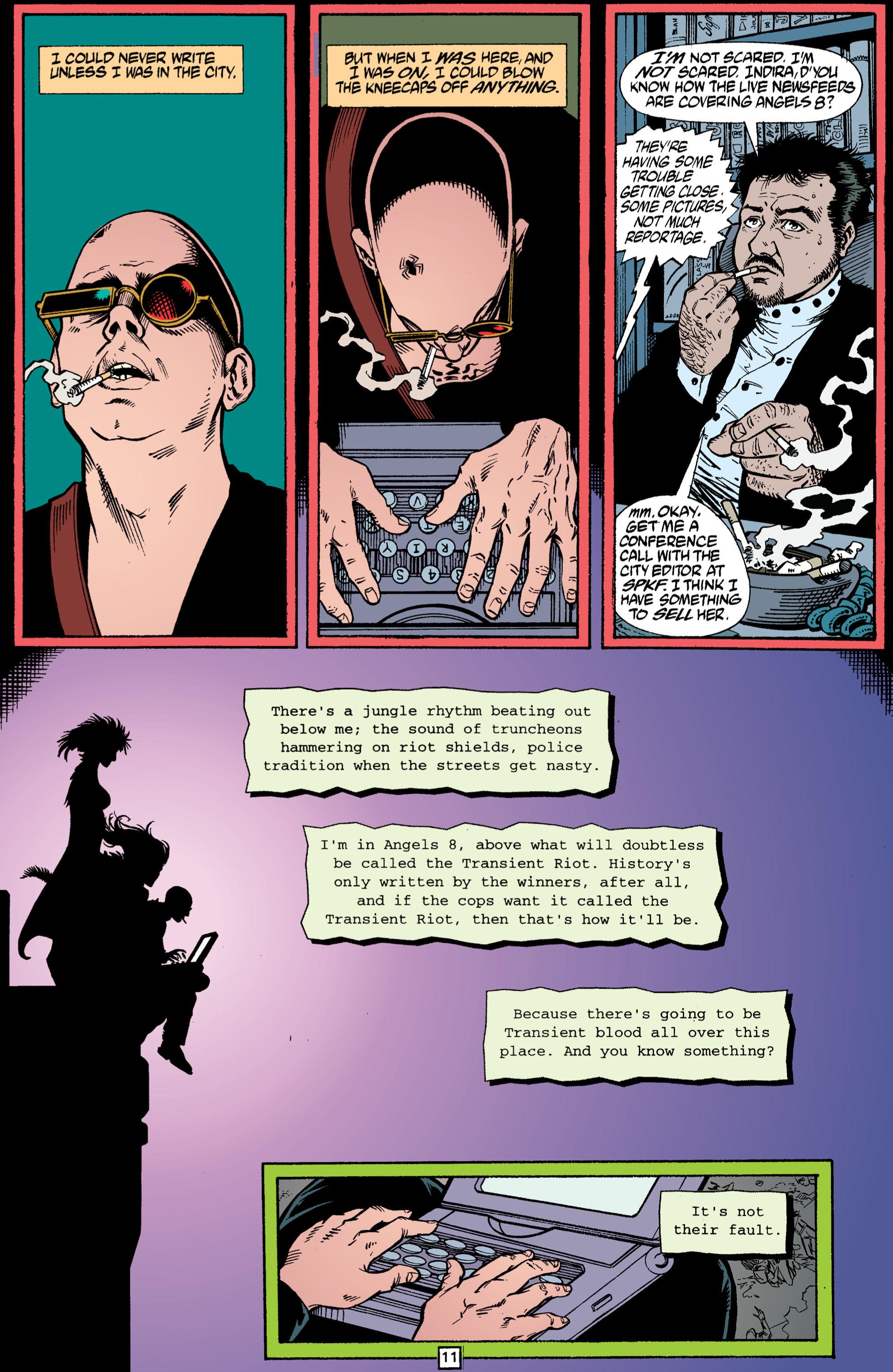 Read online Transmetropolitan comic -  Issue #3 - 11