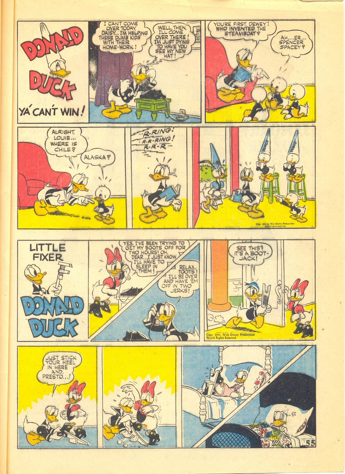 Walt Disney's Comics and Stories issue 40 - Page 57