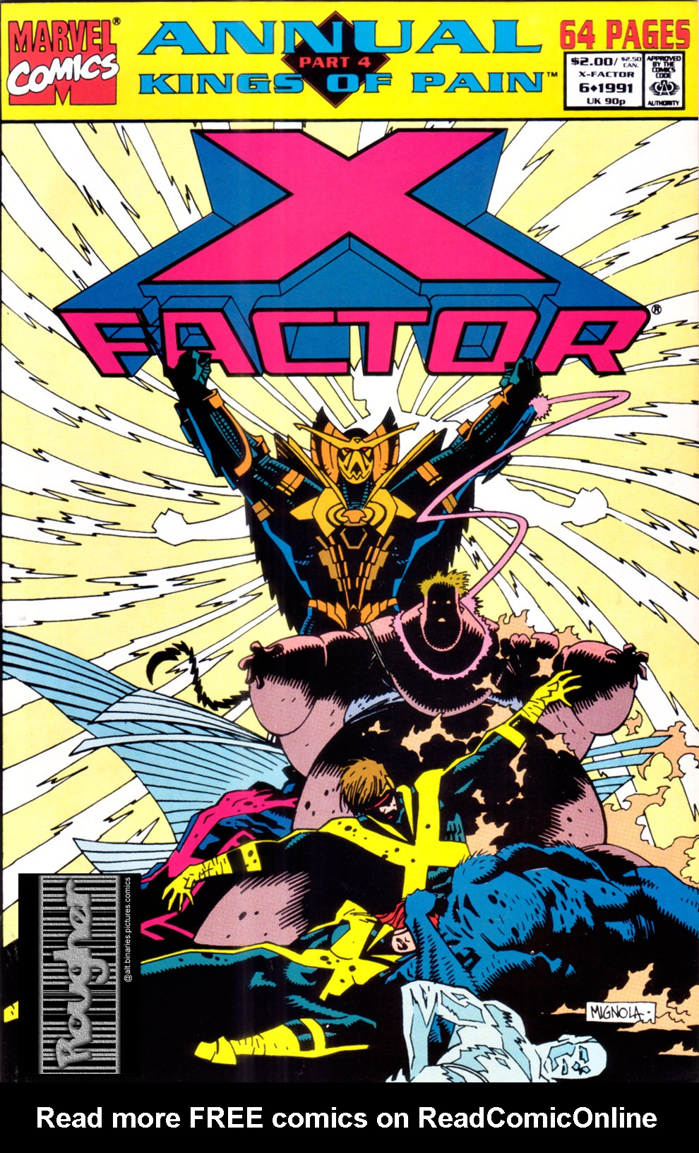 Read online X-Factor (1986) comic -  Issue # _ Annual 6 - 1