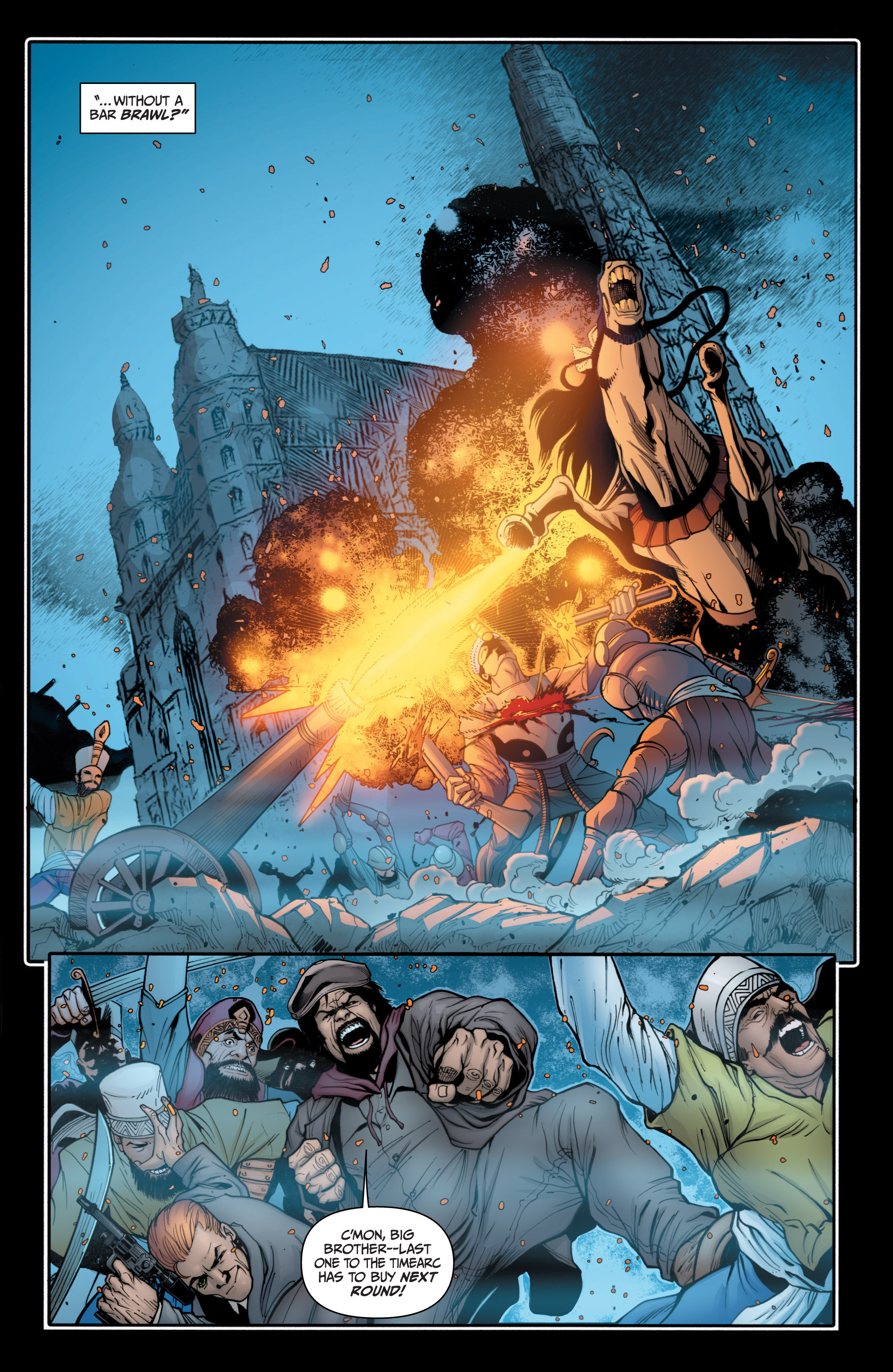 Read online Archer and Armstrong comic -  Issue #Archer and Armstrong _TPB 4 - 40