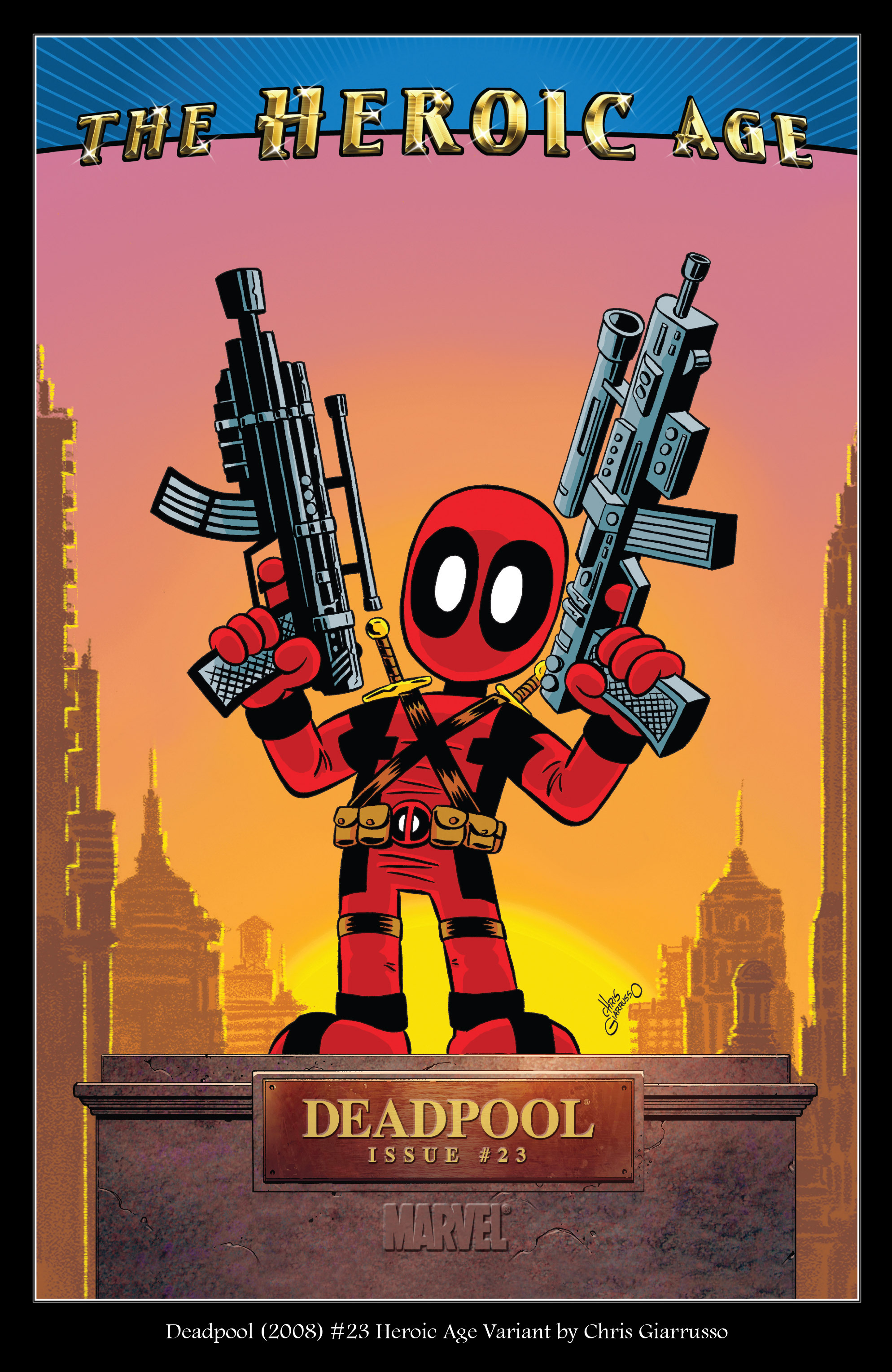 Read online True Believers: Deadpool Variants comic -  Issue # Full - 6