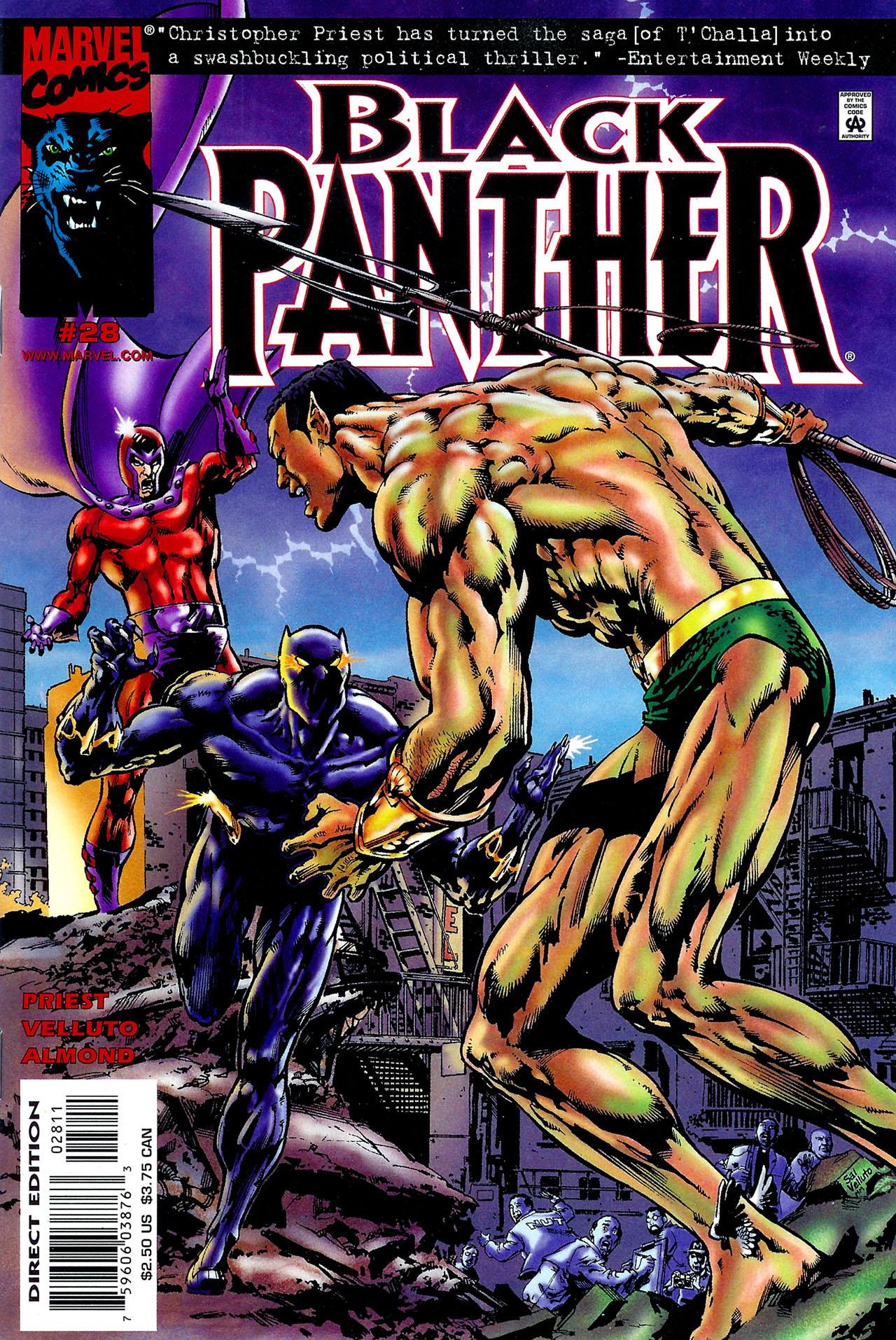 Black Panther (1998) 28 Page 1