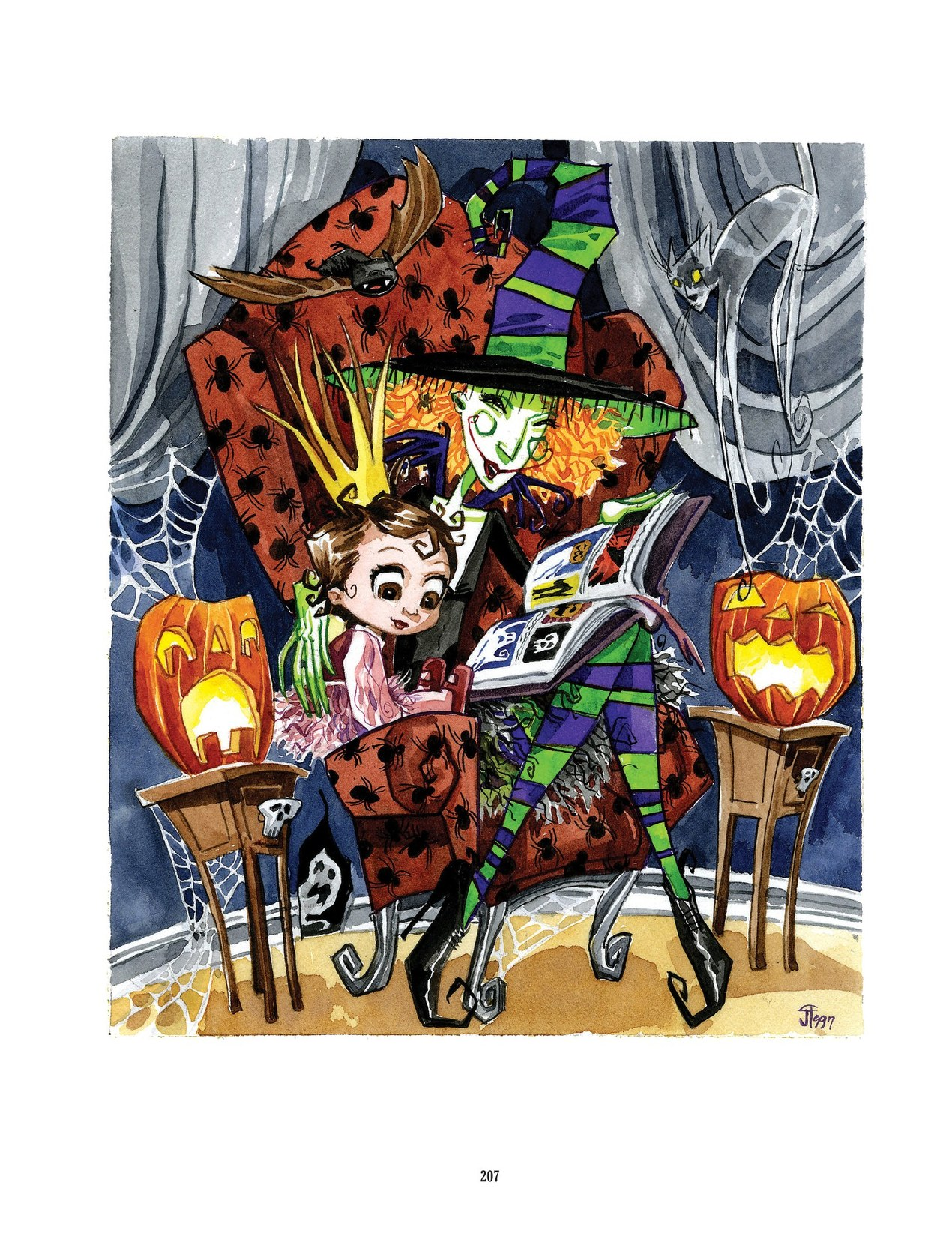 Read online Scary Godmother comic -  Issue # TPB - 207