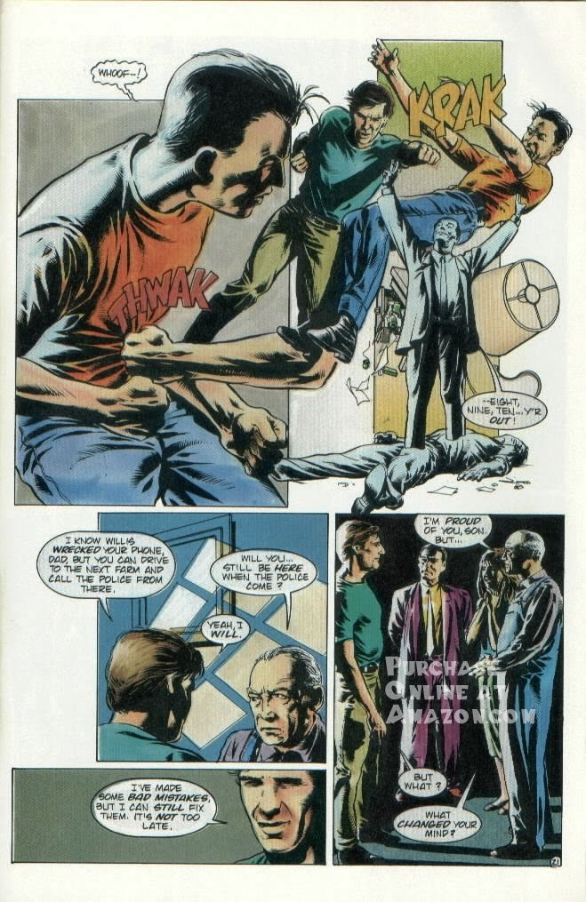 Read online Quantum Leap comic -  Issue #8 - 22