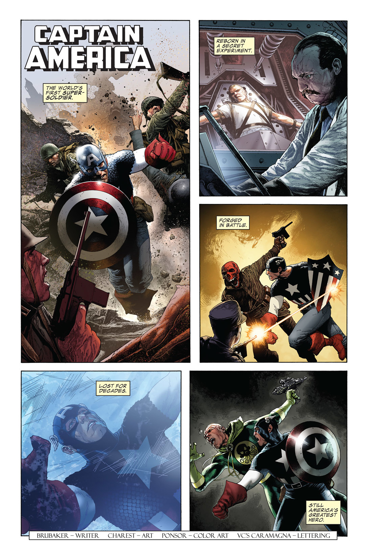 Captain America (1968) 616 Page 1