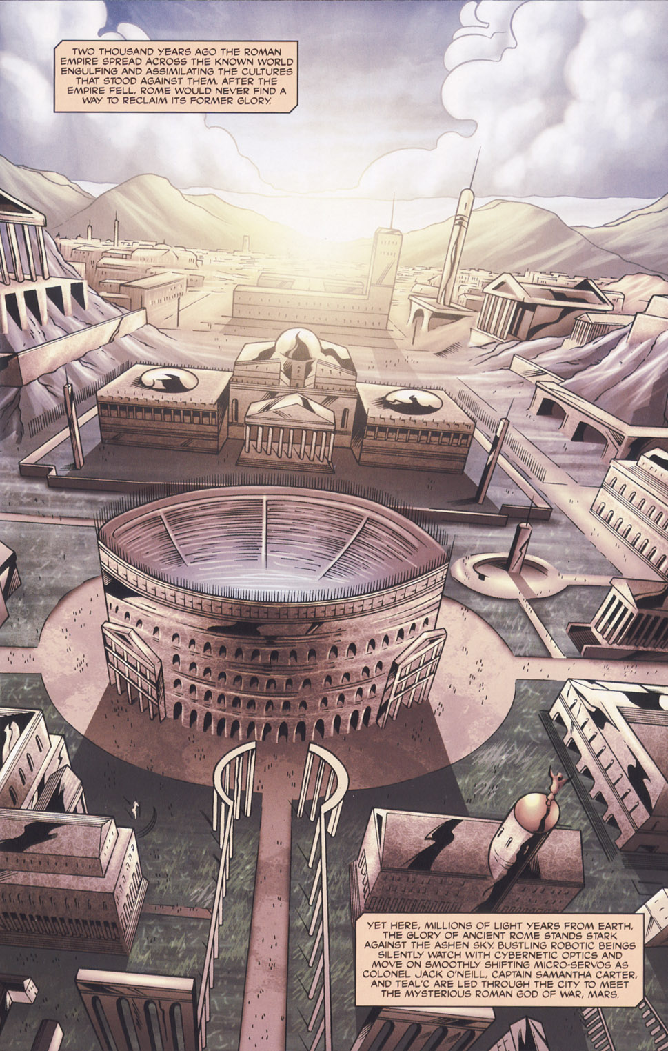 Read online Stargate SG-1: Fall of Rome comic -  Issue #2 - 3