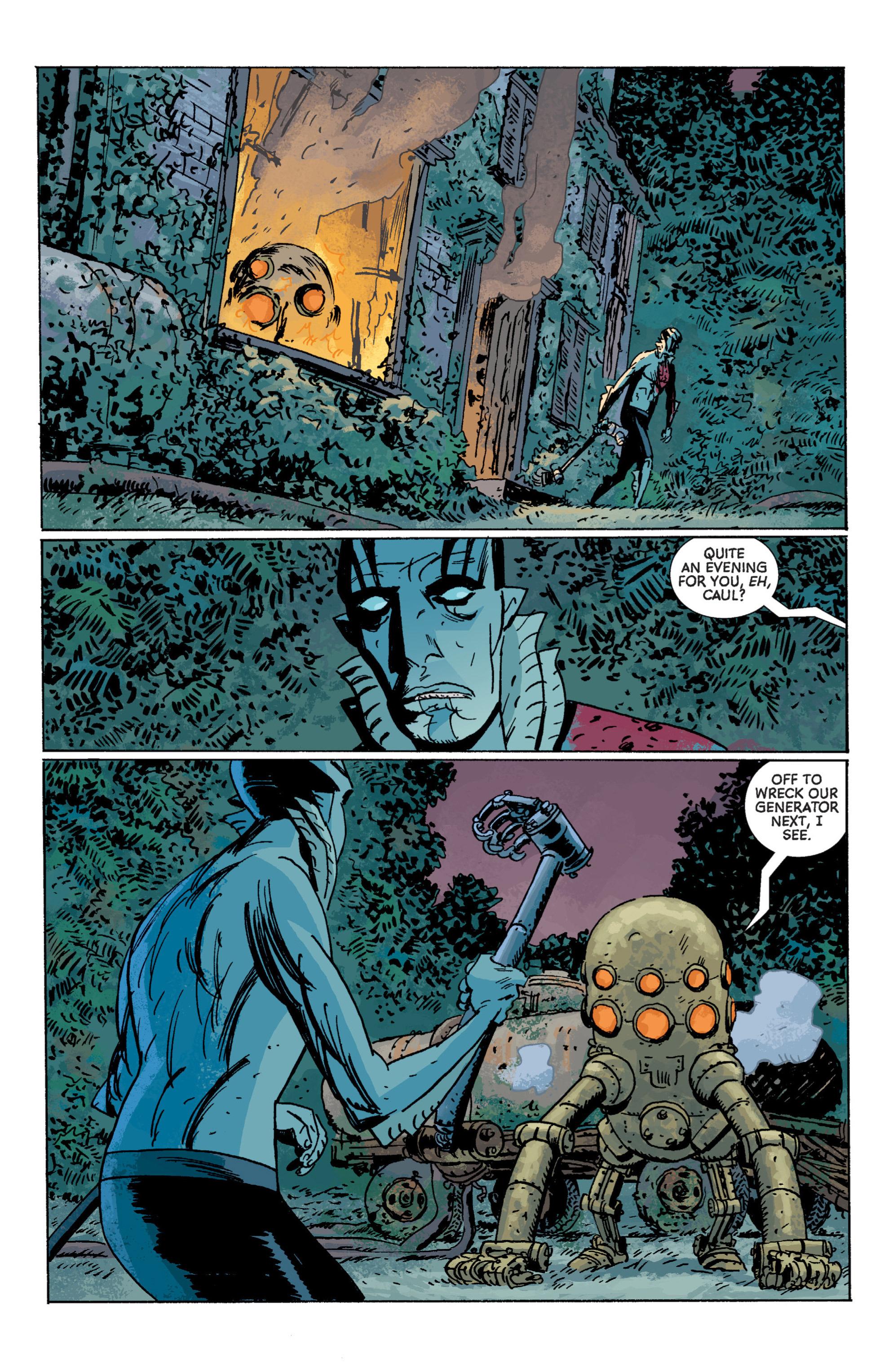 Read online B.P.R.D. (2003) comic -  Issue # TPB 7 - 121