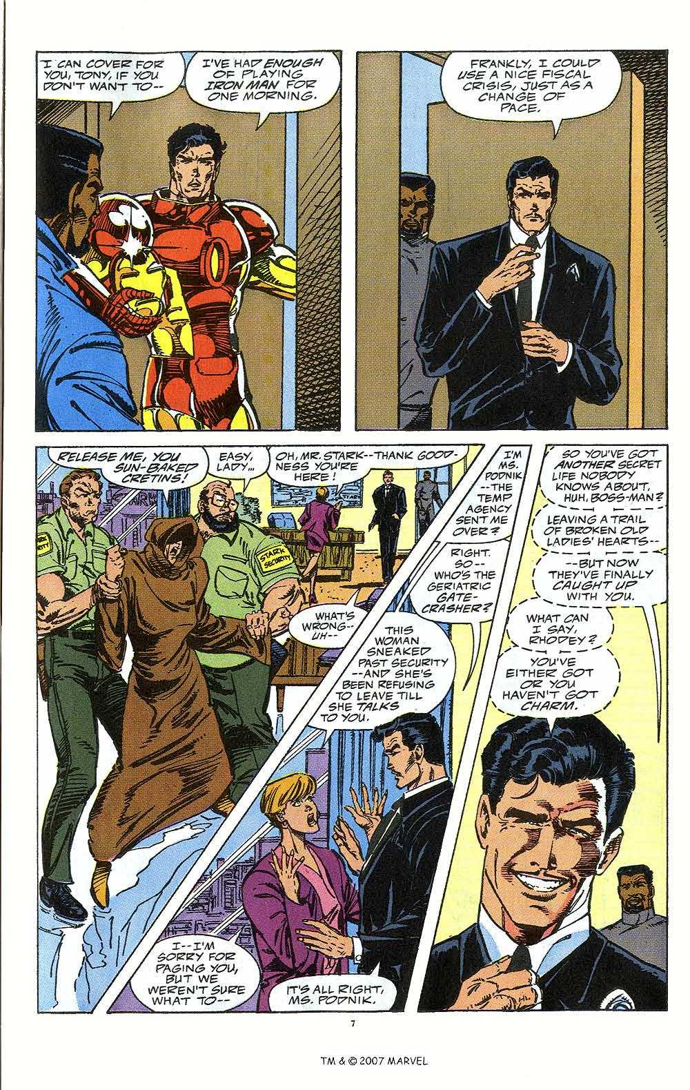 Iron Man Annual issue 12 - Page 9