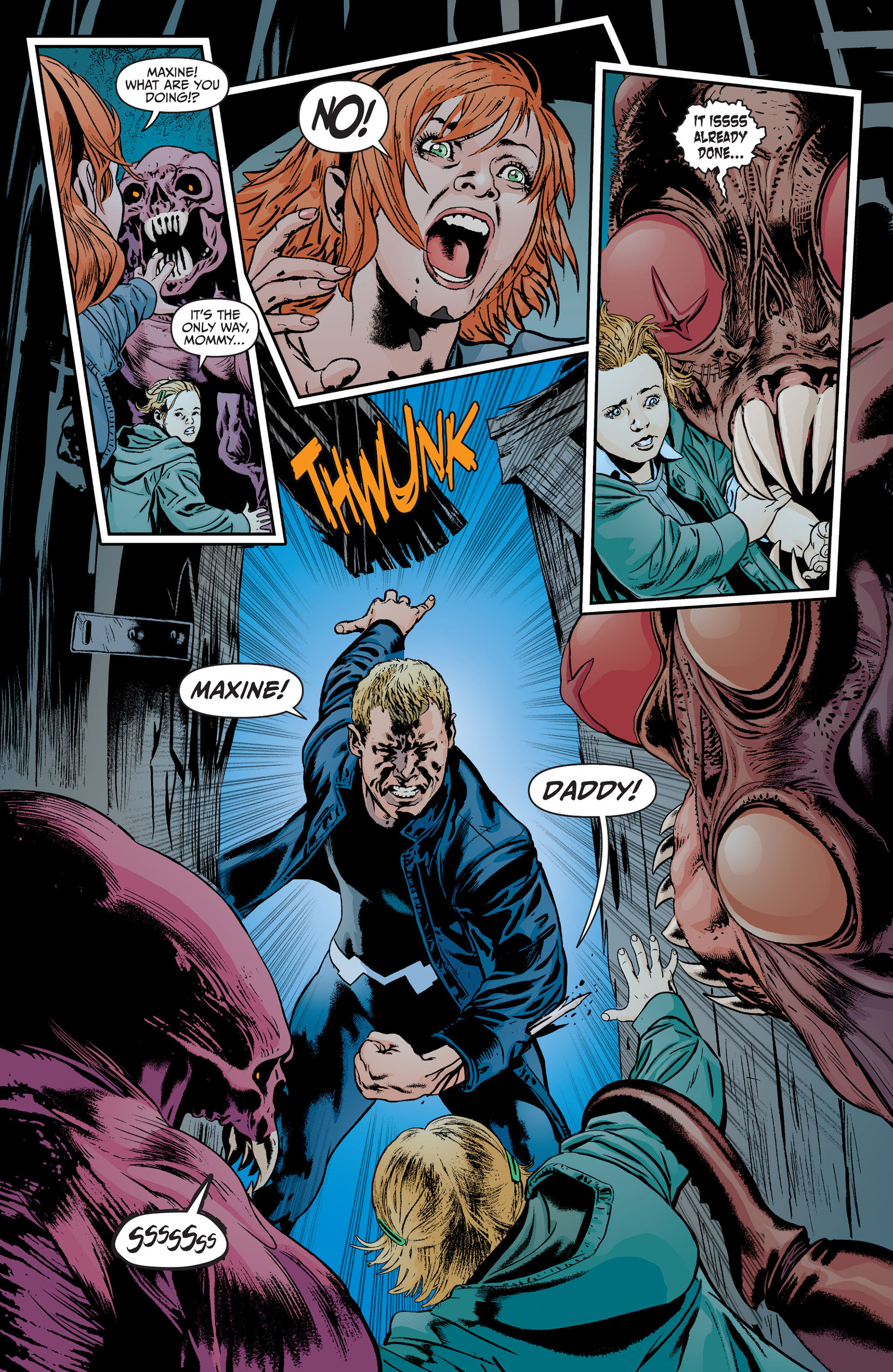 Read online Animal Man (2011) comic -  Issue #18 - 8