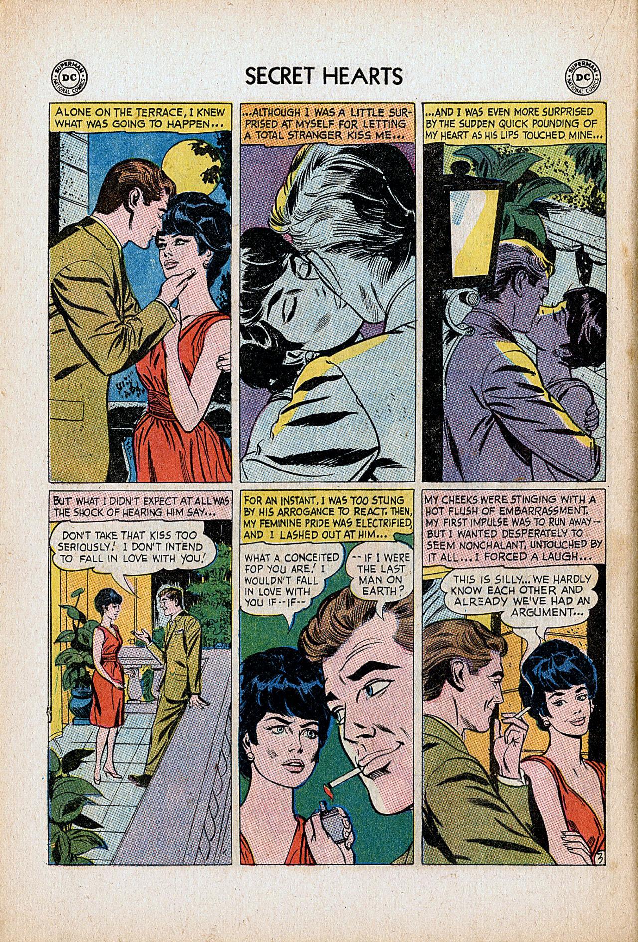 Read online Secret Hearts comic -  Issue #86 - 20