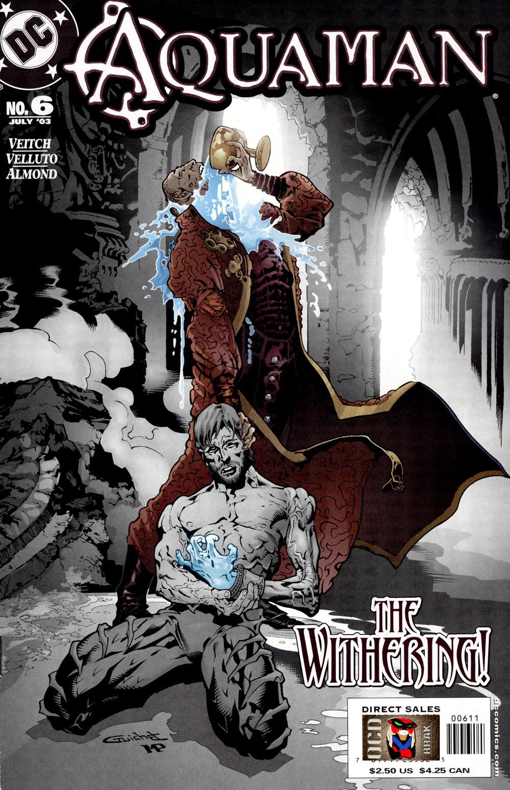 Read online Aquaman (2003) comic -  Issue #6 - 1