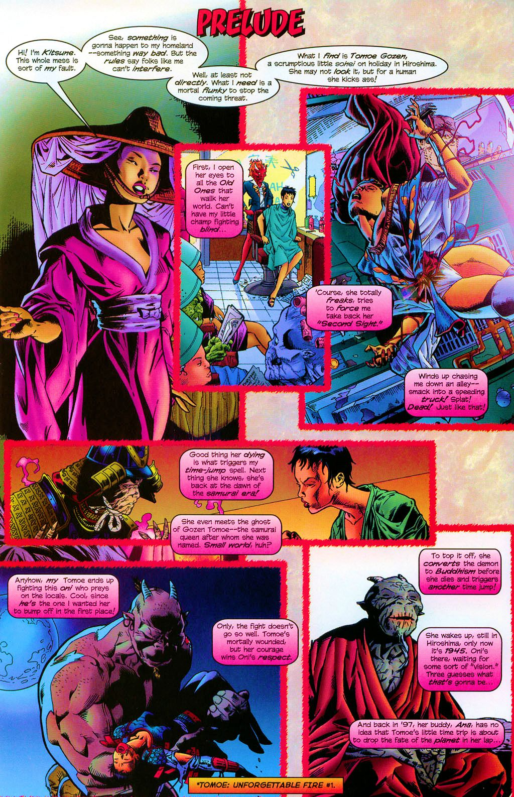 Read online Shi: The Series comic -  Issue #1 - 2