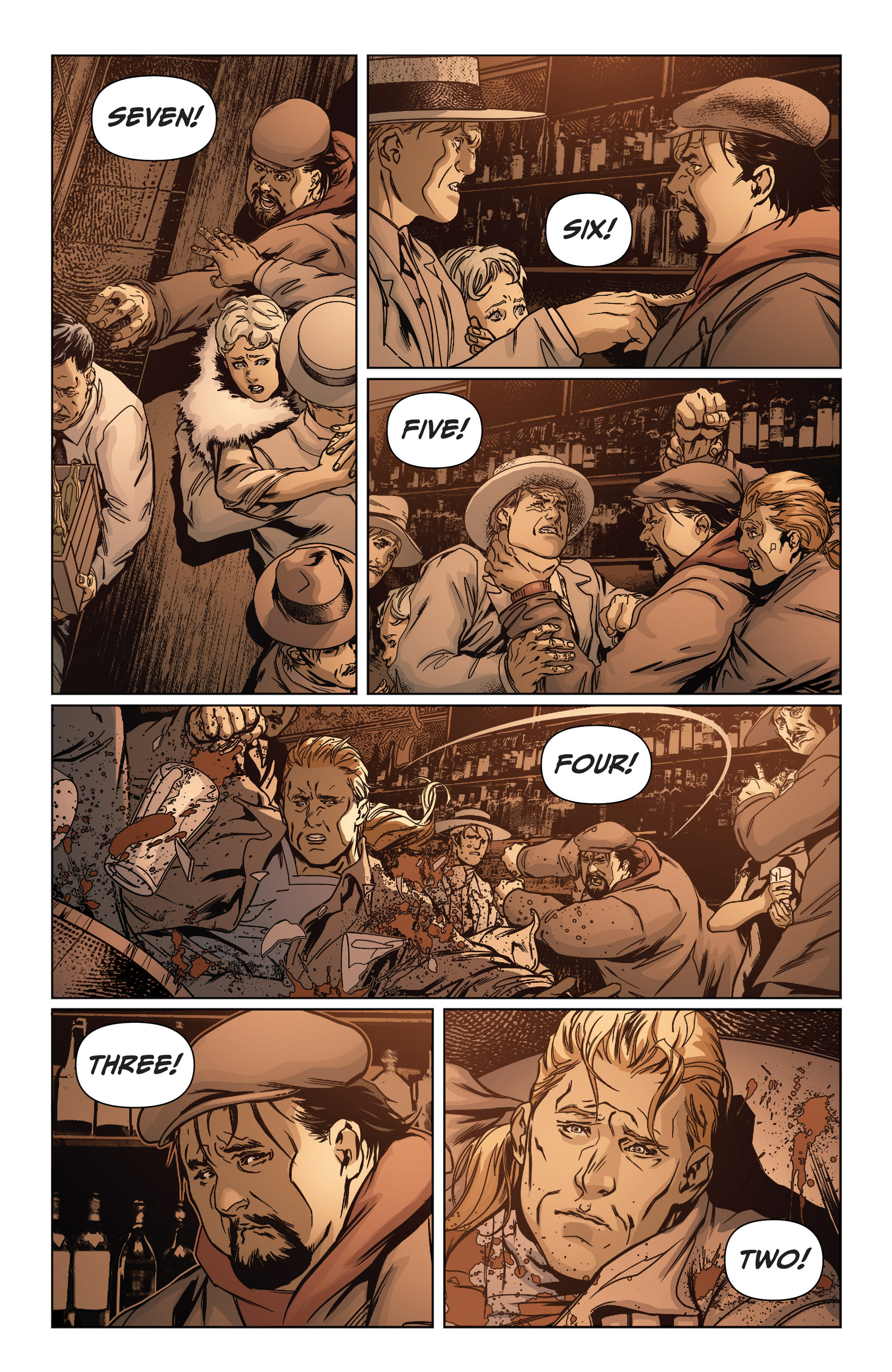 Read online Archer and Armstrong comic -  Issue #15 - 19