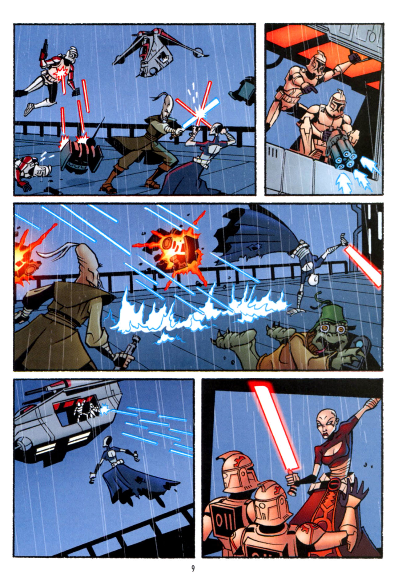 Read online Star Wars: The Clone Wars - Crash Course comic -  Issue # Full - 10