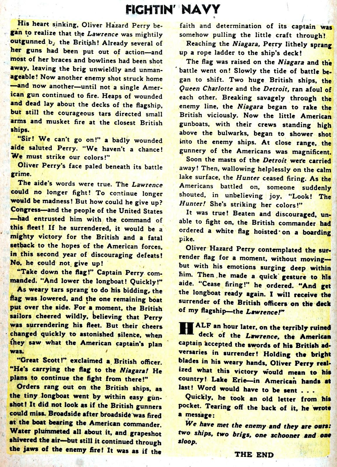 Read online Fightin' Navy comic -  Issue #75 - 18