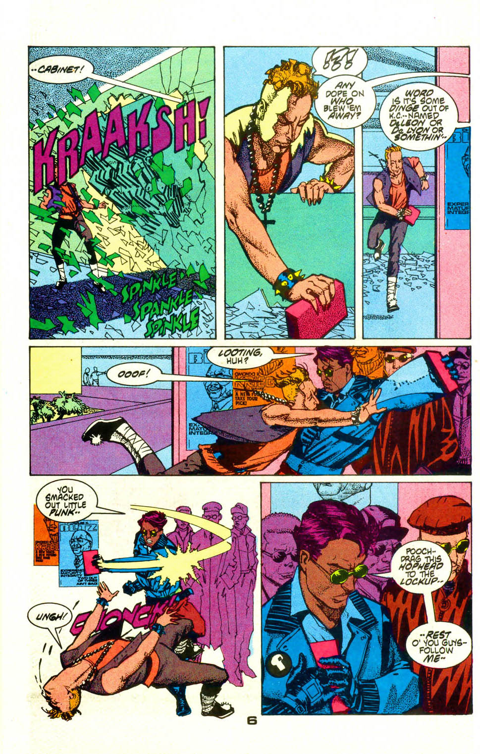 Read online American Flagg! comic -  Issue #19 - 8