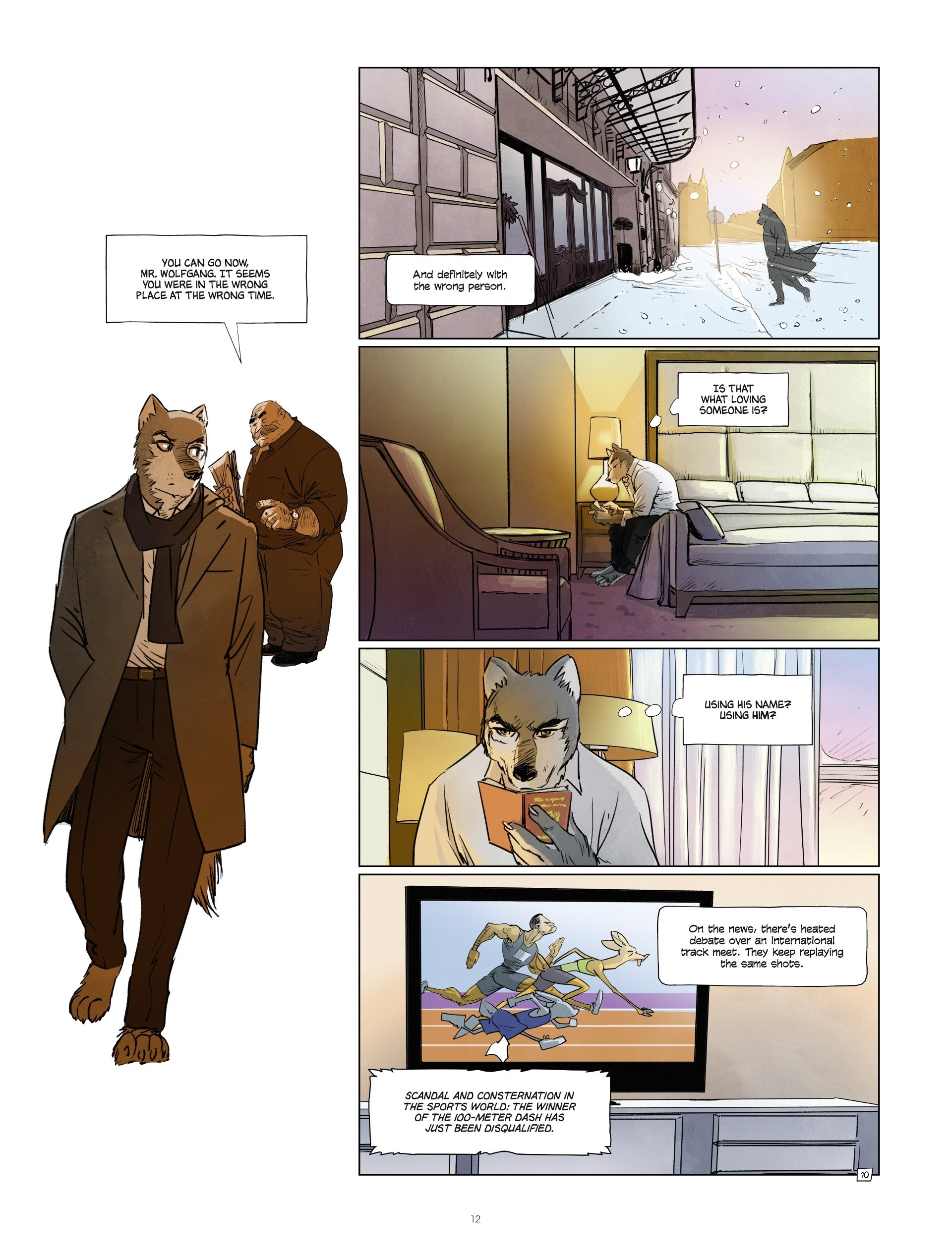 Read online Jack Wolfgang comic -  Issue #3 - 14