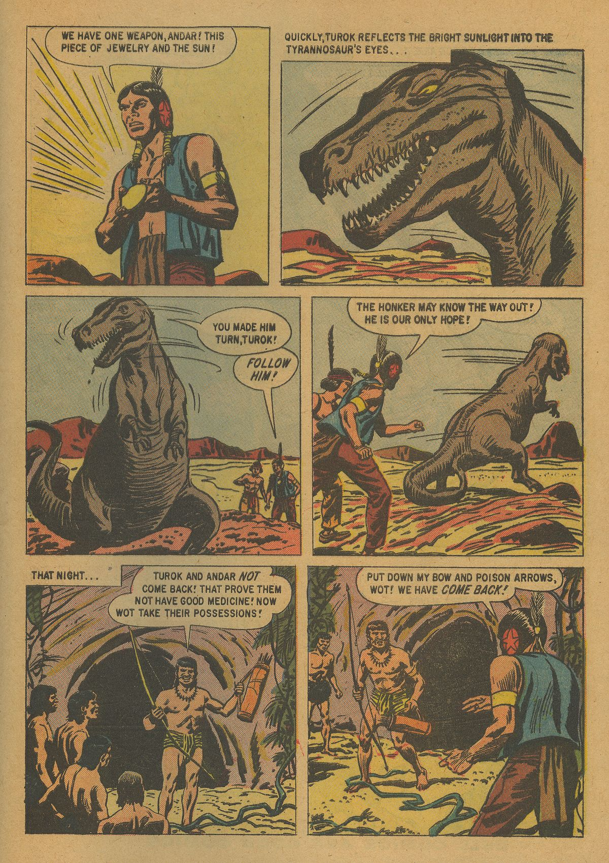 Read online Turok, Son of Stone comic -  Issue #21 - 33