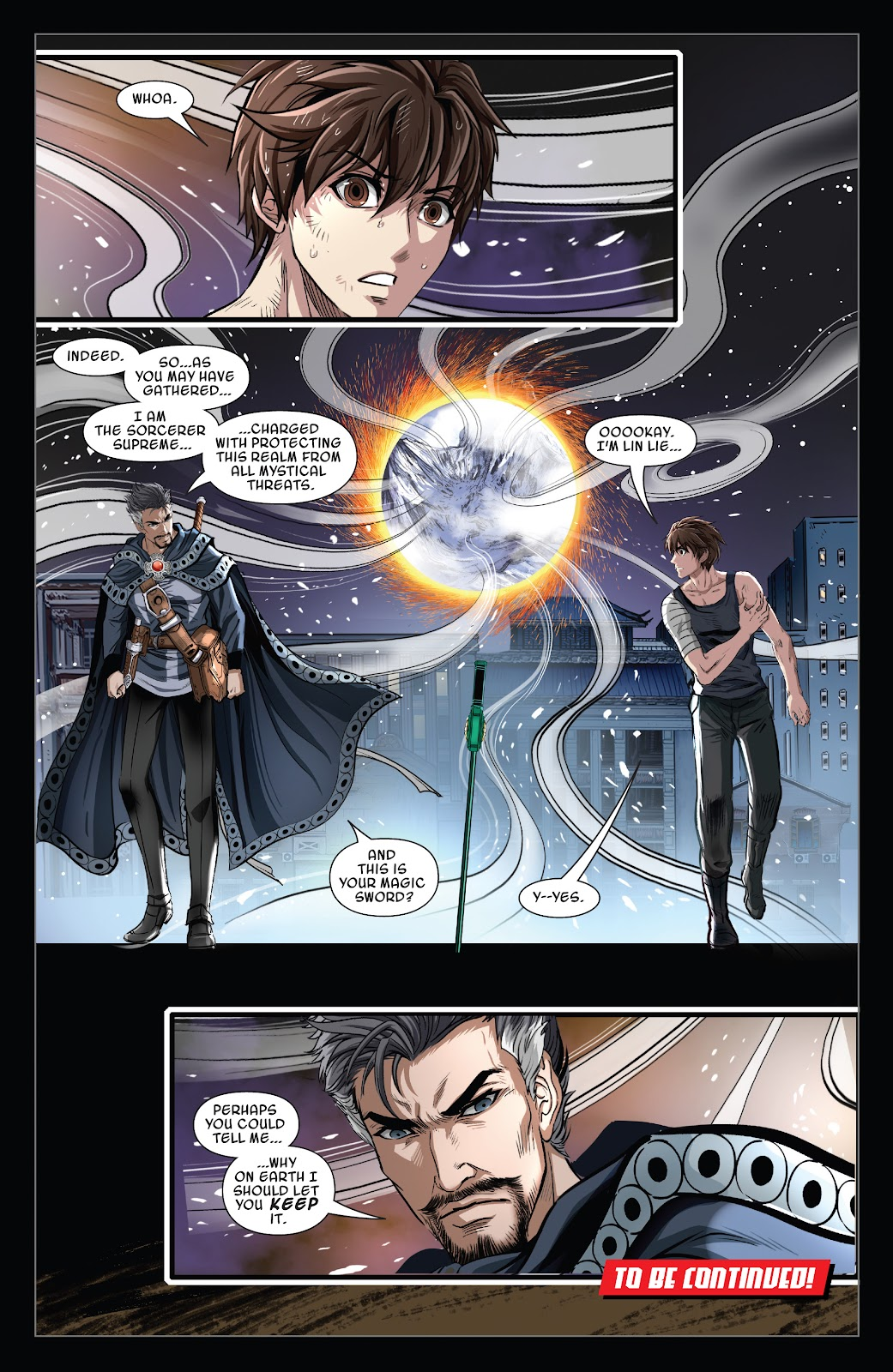 Read online Sword Master comic -  Issue #5 - 22
