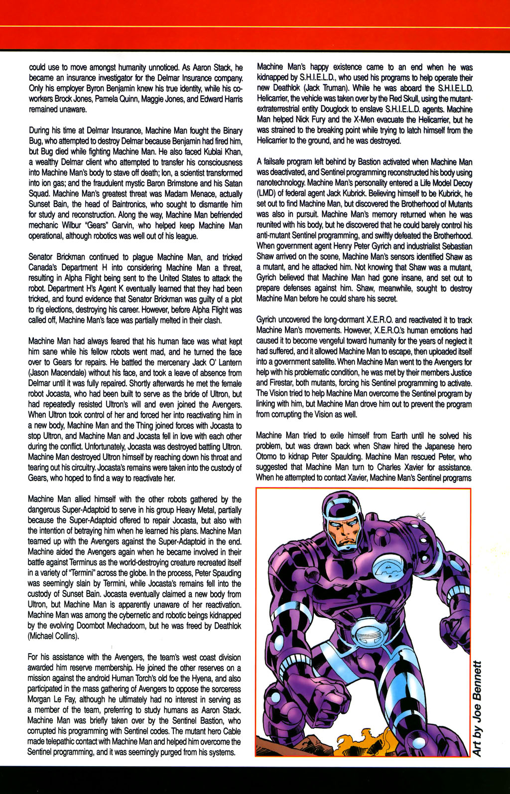 Read online All-New Official Handbook of the Marvel Universe A to Z comic -  Issue #6 - 45