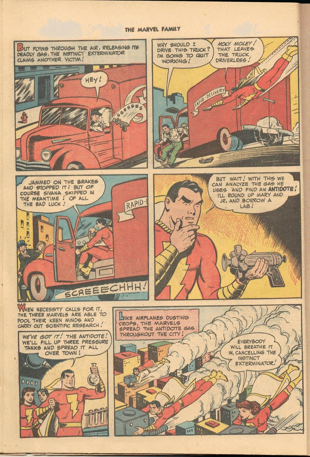 The Marvel Family issue 38 - Page 10
