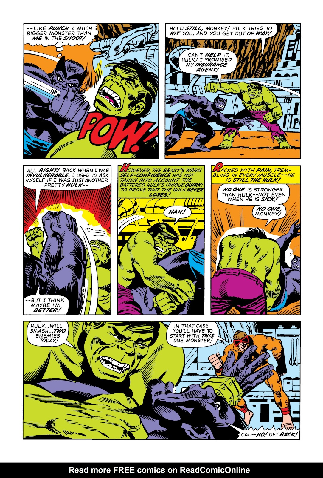 Read online Marvel Masterworks: The Incredible Hulk comic -  Issue # TPB 9 (Part 2) - 11