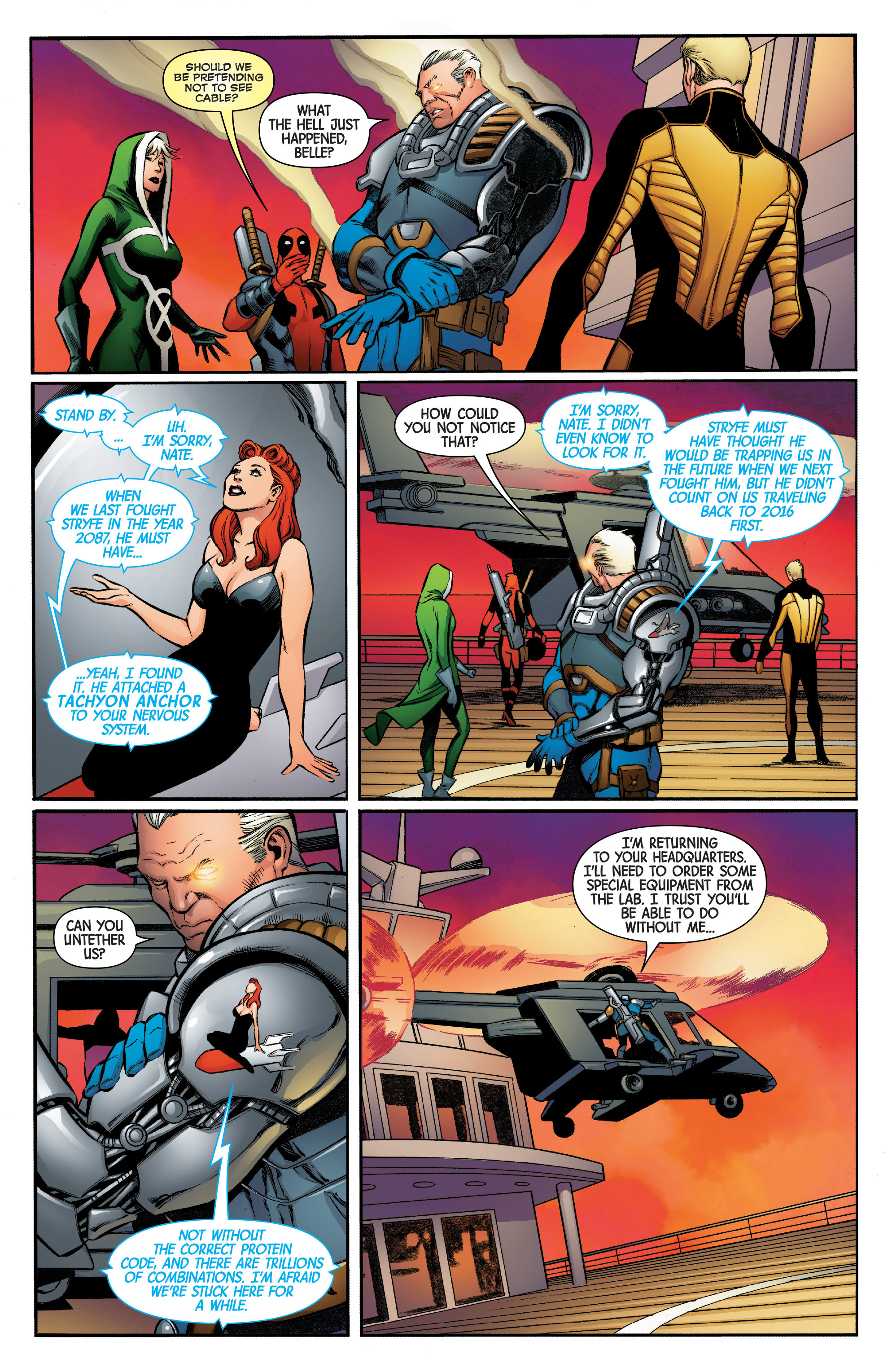 Read online Uncanny Avengers [II] comic -  Issue #5 - 8