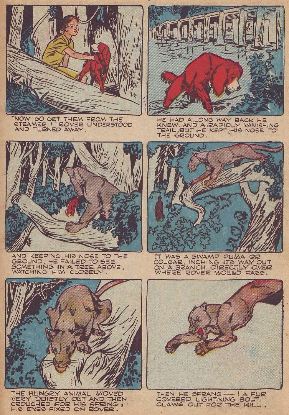Read online Animal Comics comic -  Issue #23 - 35