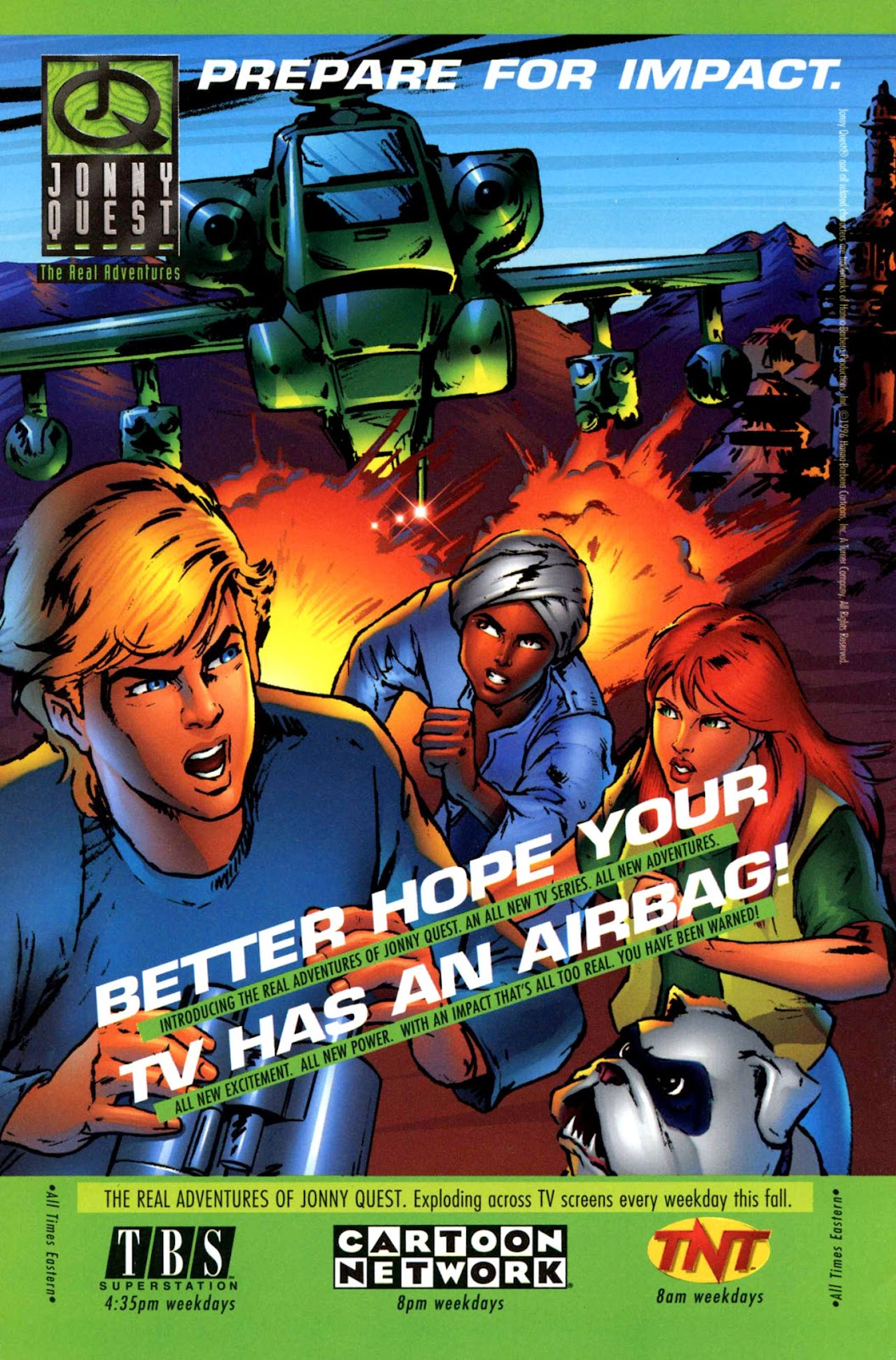 Read online The Real Adventures of Jonny Quest comic -  Issue #1 - 36