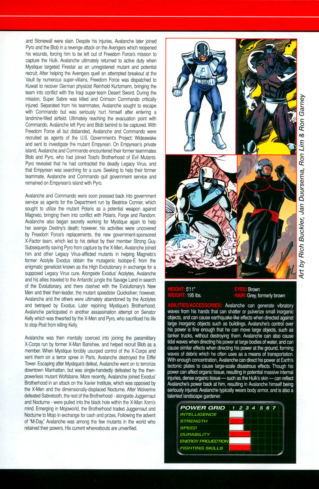 Read online All-New Official Handbook of the Marvel Universe A to Z: Update comic -  Issue #2 - 10