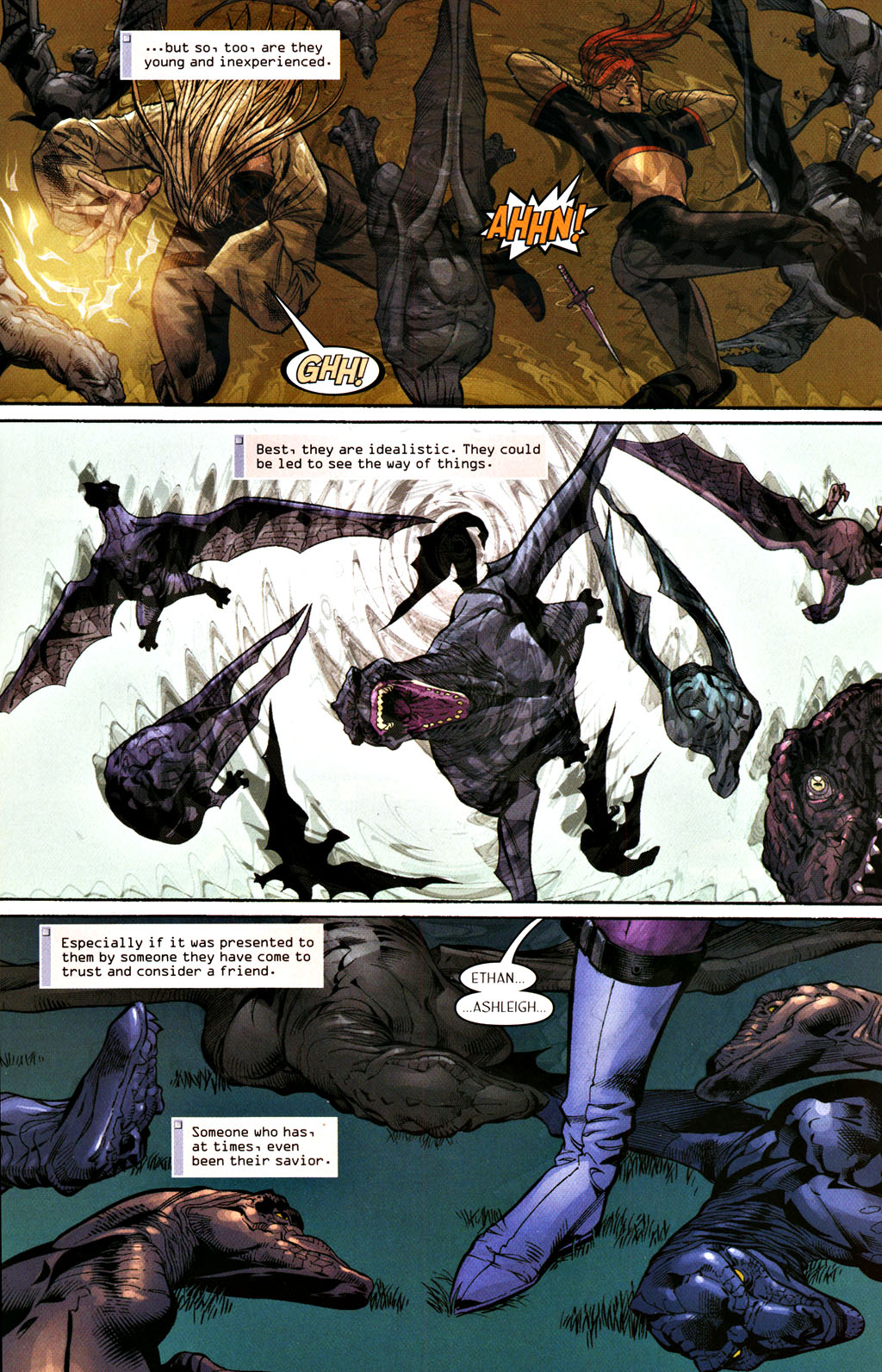 Read online Scion comic -  Issue #28 - 15