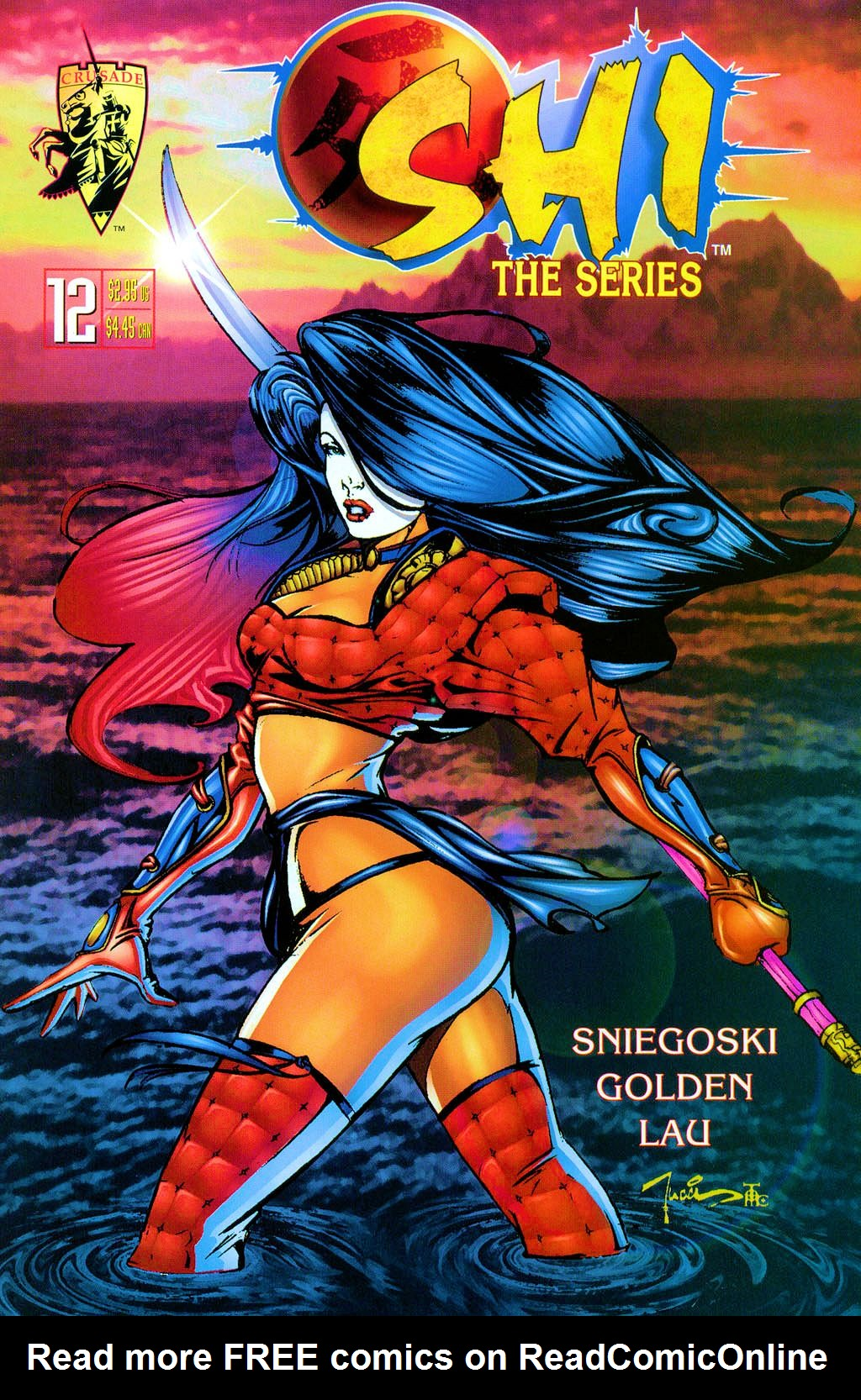 Read online Shi: The Series comic -  Issue #12 - 1