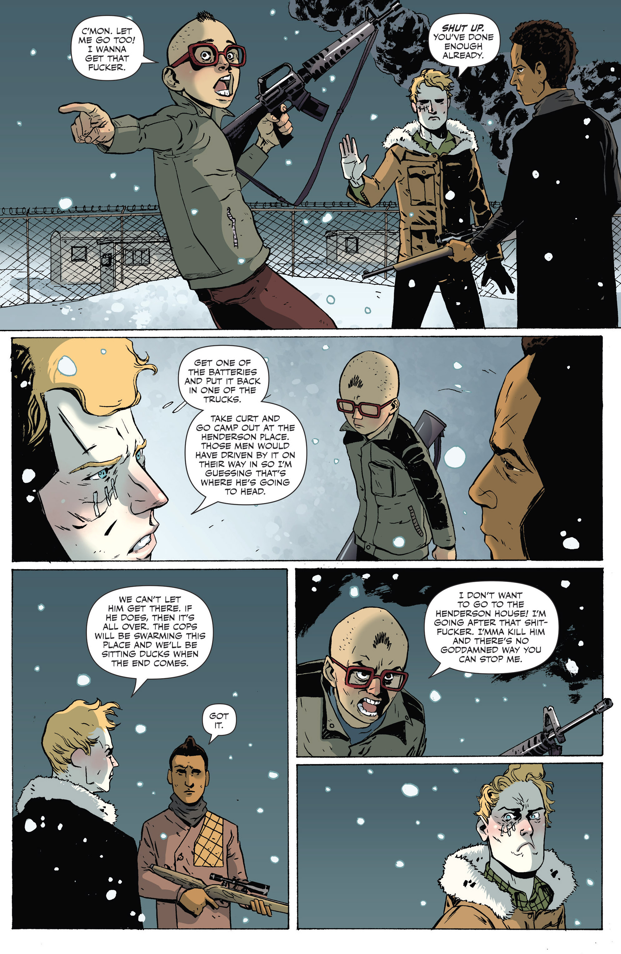 Read online Sheltered comic -  Issue #7 - 8